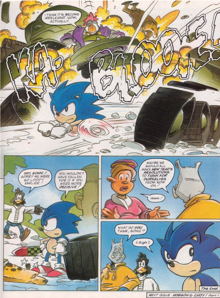Read online Sonic the Comic comic -  Issue #120 - 9