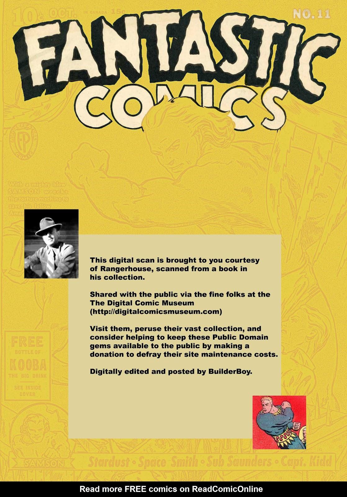 Read online Fantastic Comics comic -  Issue #11 - 70