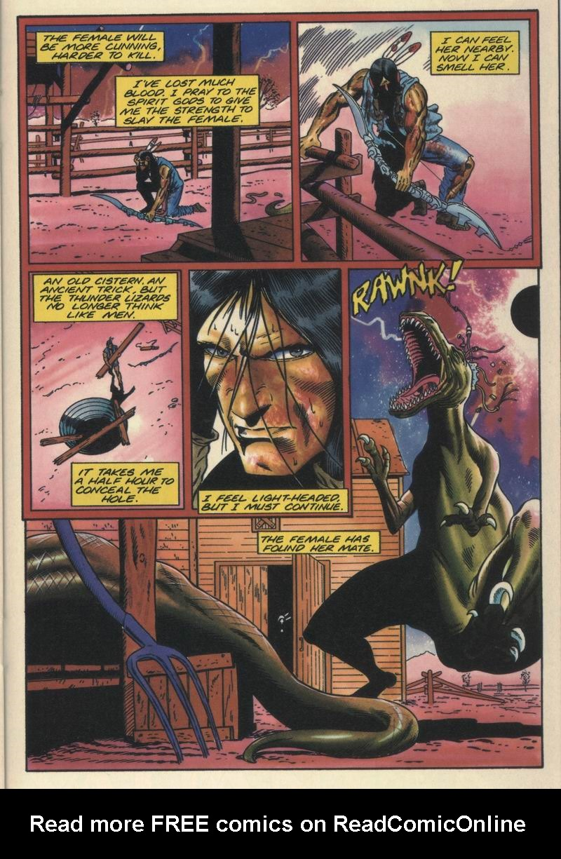 Read online Turok, Dinosaur Hunter (1993) comic -  Issue #16 - 18
