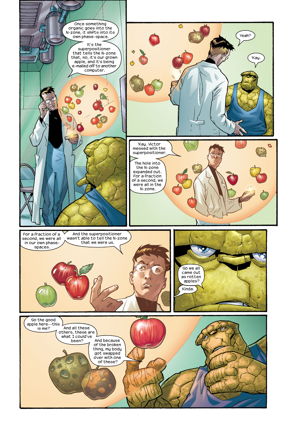 Read online Ultimate Fantastic Four (2004) comic -  Issue #8 - 11