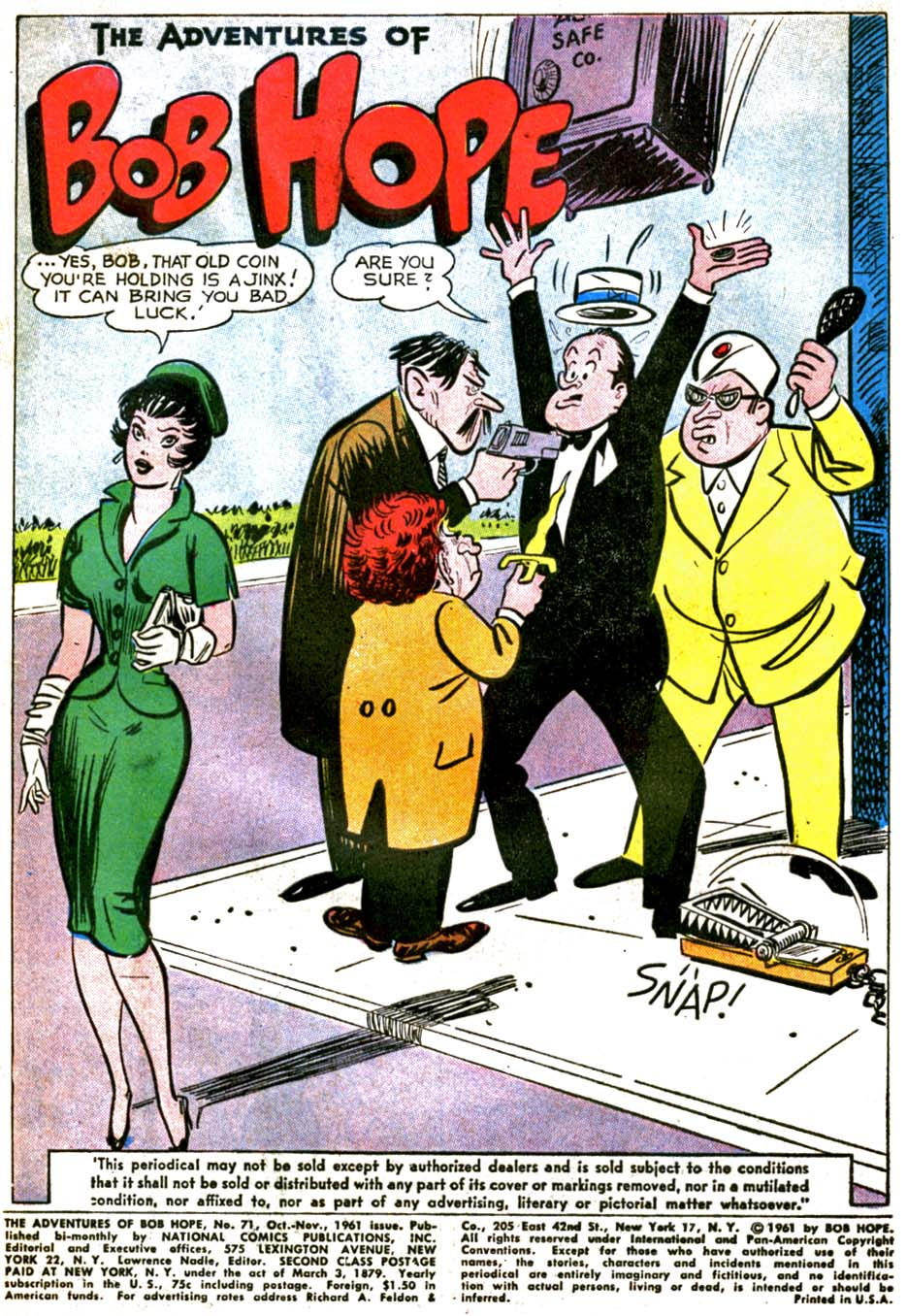 The Adventures of Bob Hope issue 71 - Page 3