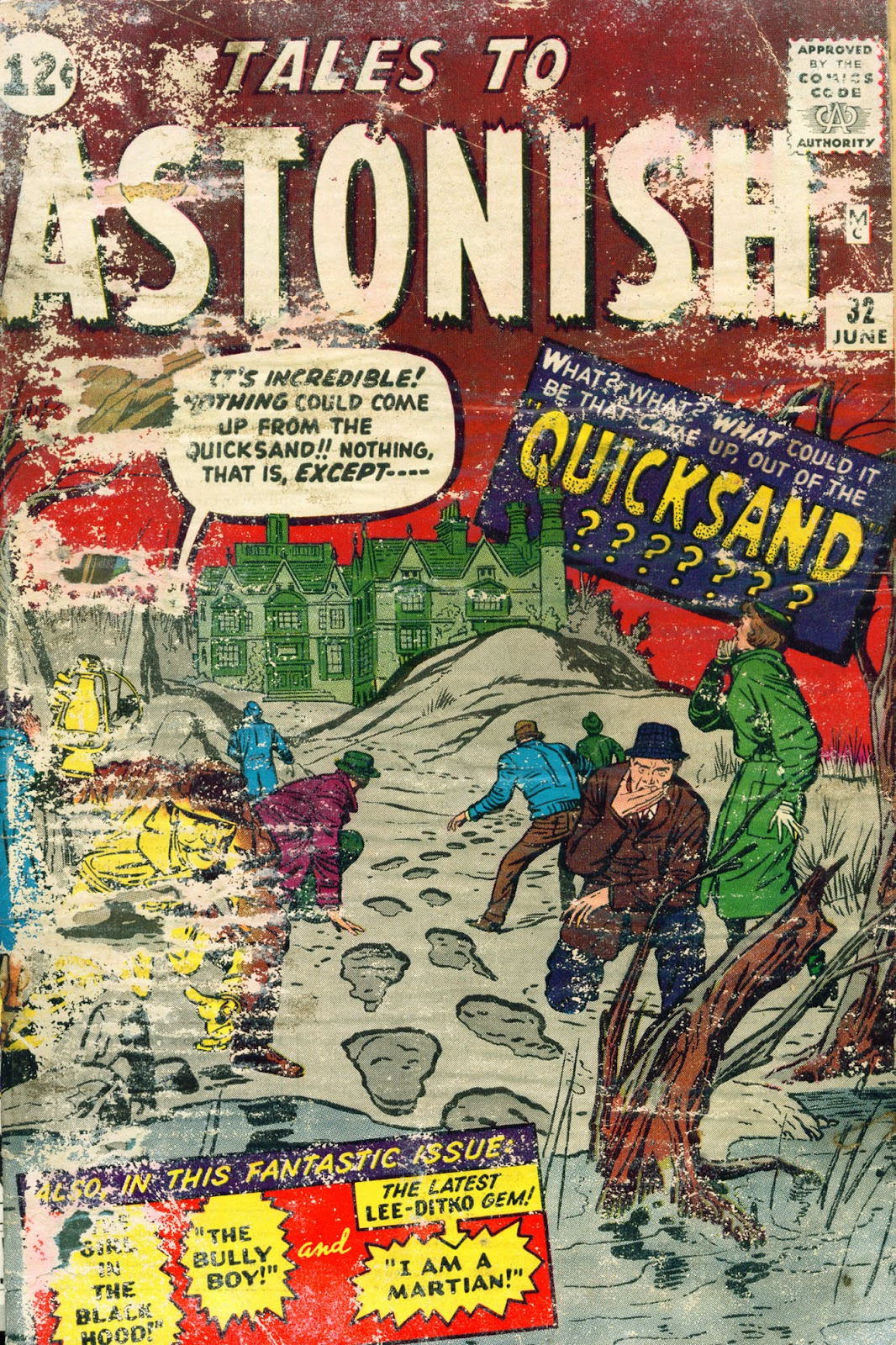 Tales to Astonish (1959) issue 32 - Page 1