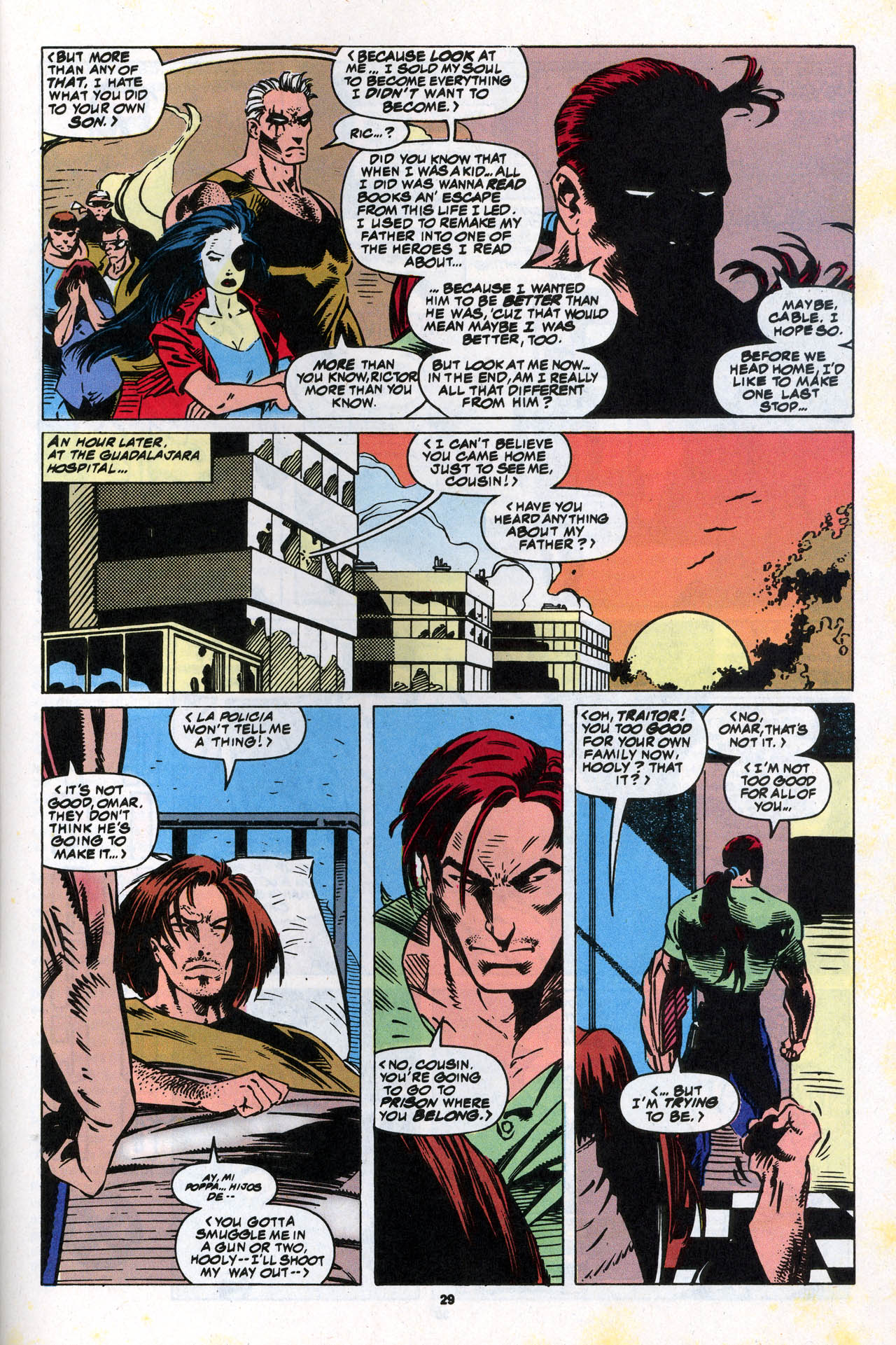 Read online X-Force (1991) comic -  Issue #34 - 29