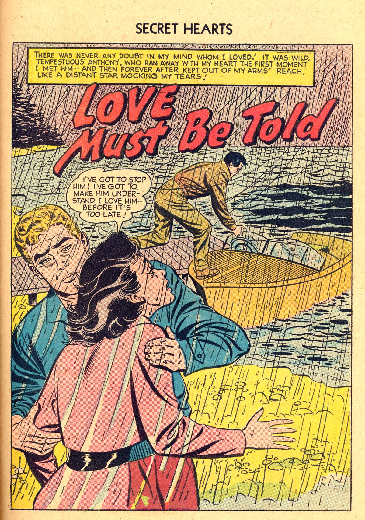 Read online Secret Hearts comic -  Issue #40 - 27
