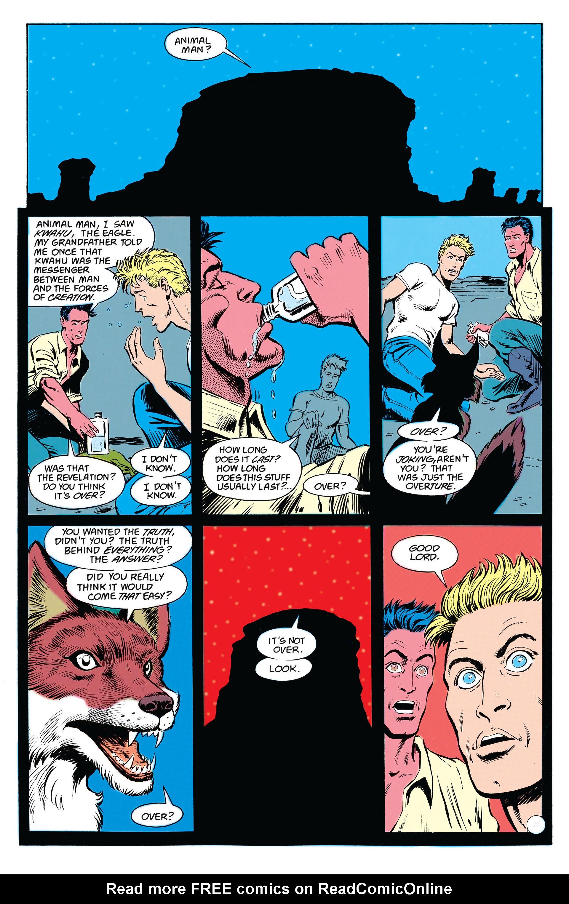 Read online Animal Man (1988) comic -  Issue #18 - 24