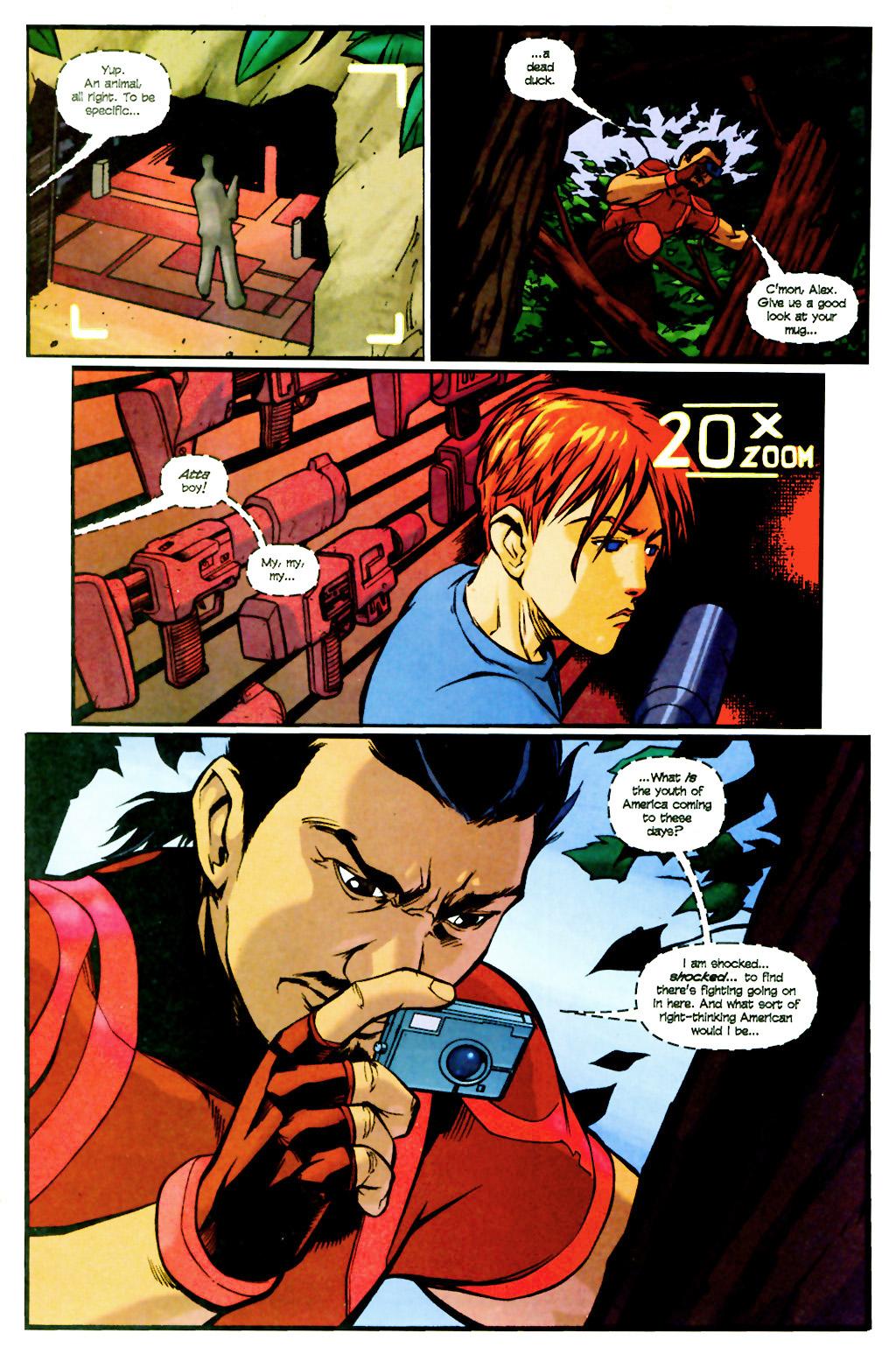 Read online SpyBoy: Final Exam comic -  Issue #2 - 16