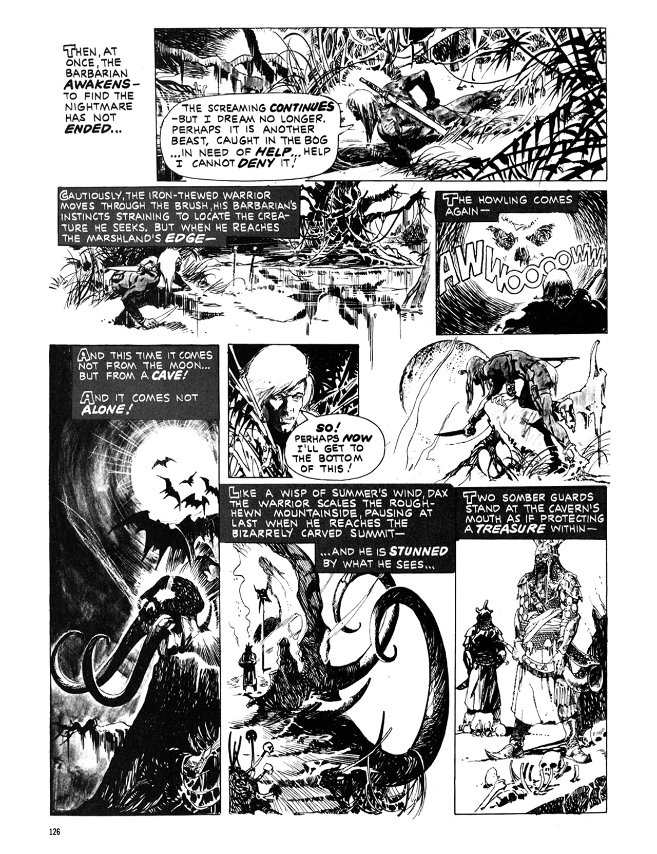 Read online Eerie Archives comic -  Issue # TPB 10 - 127