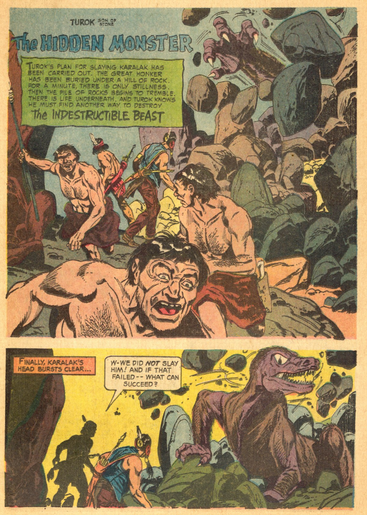 Read online Turok, Son of Stone comic -  Issue #46 - 25