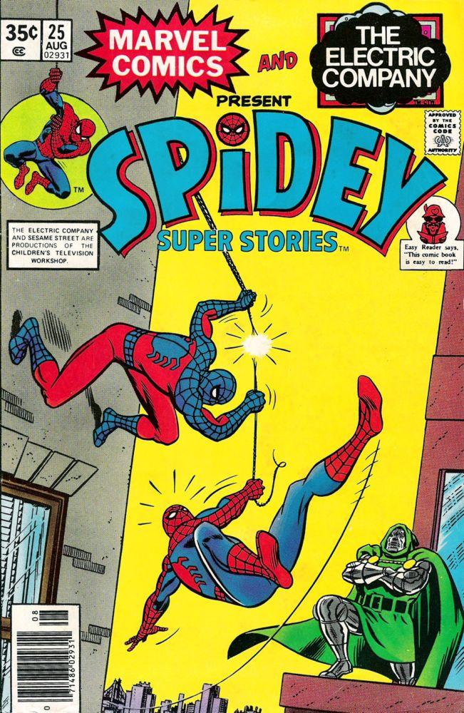 Spidey Super Stories 25 Page 1