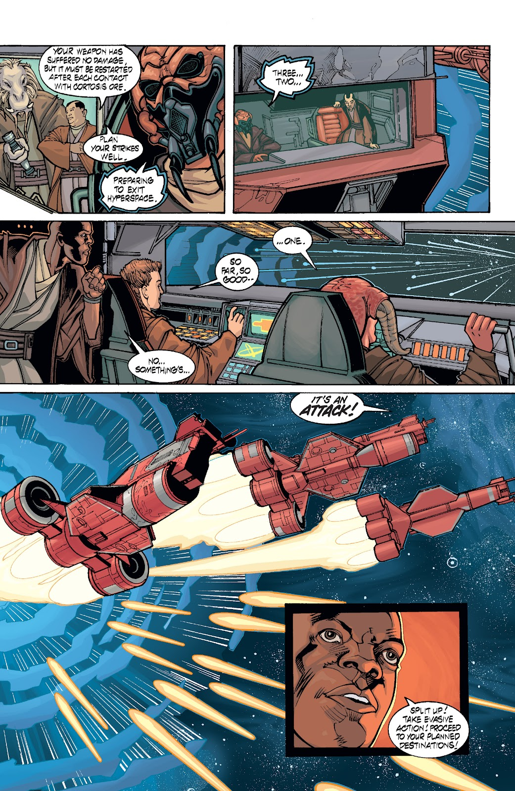 Read online Star Wars Legends: Rise of the Sith - Epic Collection comic -  Issue # TPB 1 (Part 4) - 83