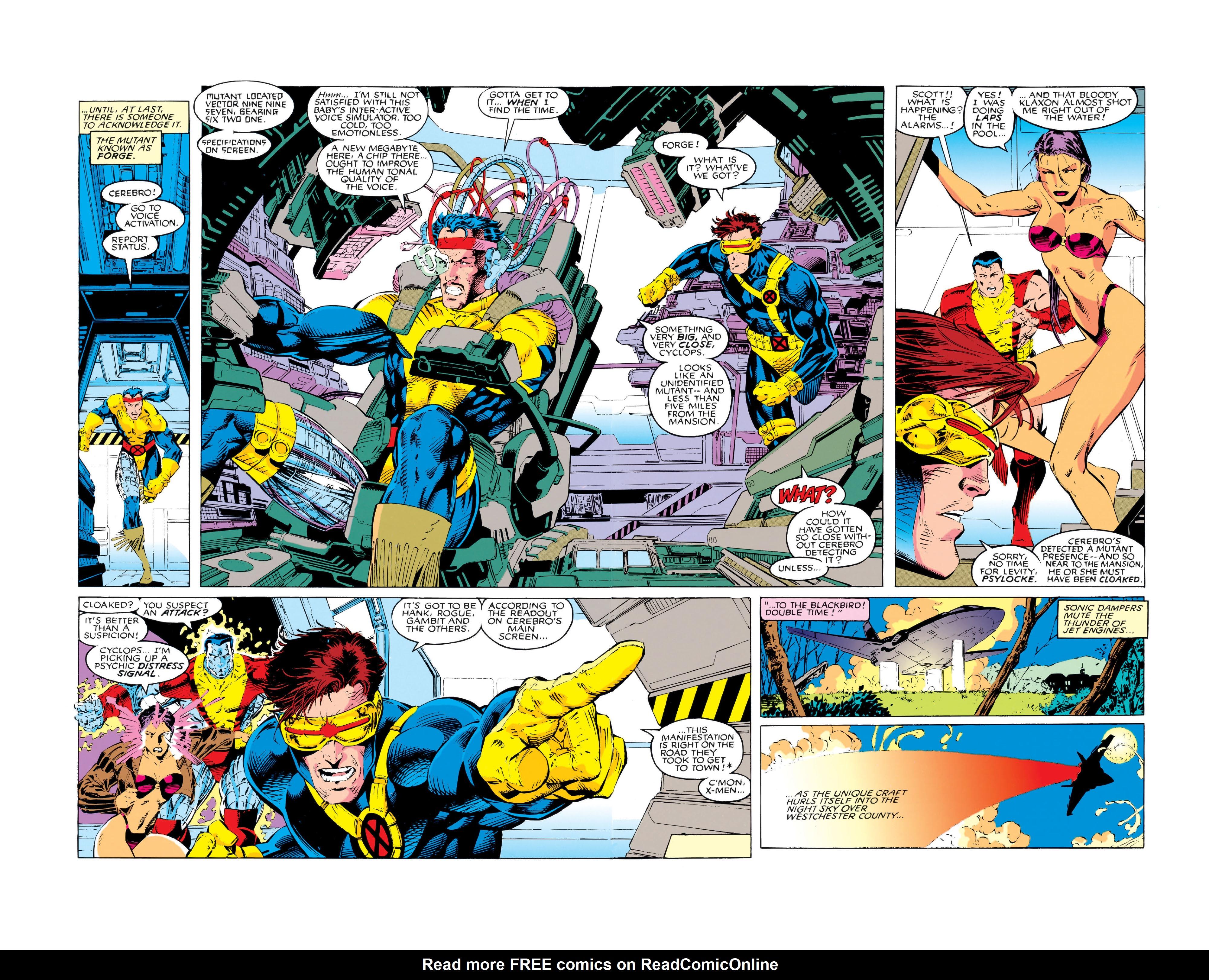 X-Men (1991) 5 Page 2