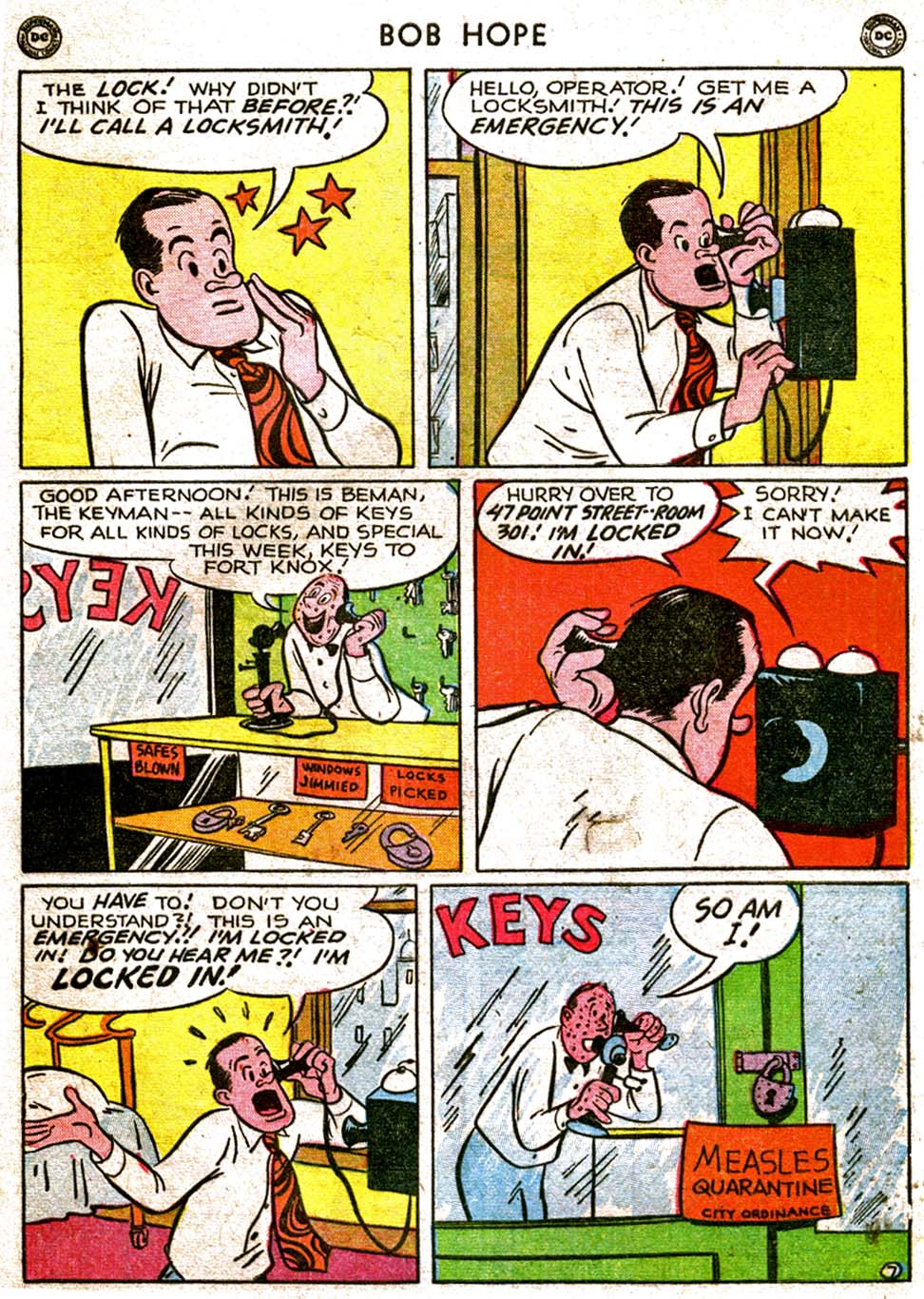 The Adventures of Bob Hope issue 1 - Page 43