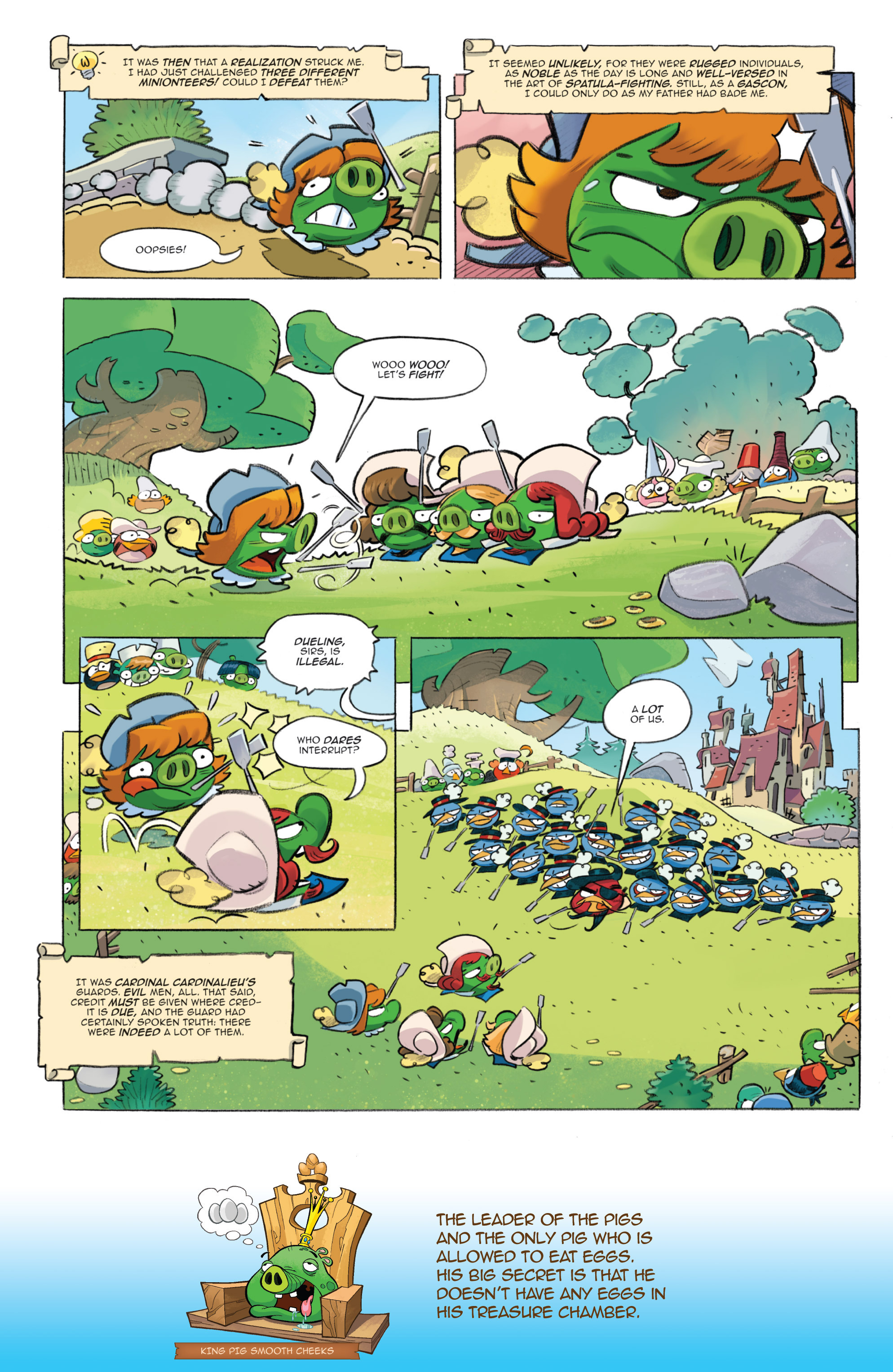 Read online Angry Birds Comics (2016) comic -  Issue #1 - 17