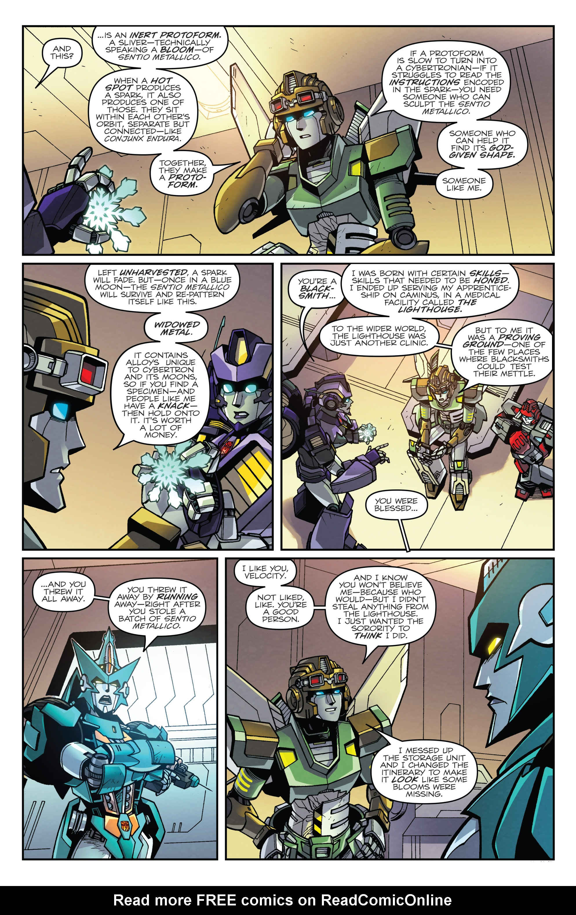 Read online Transformers: Lost Light comic -  Issue #3 - 15