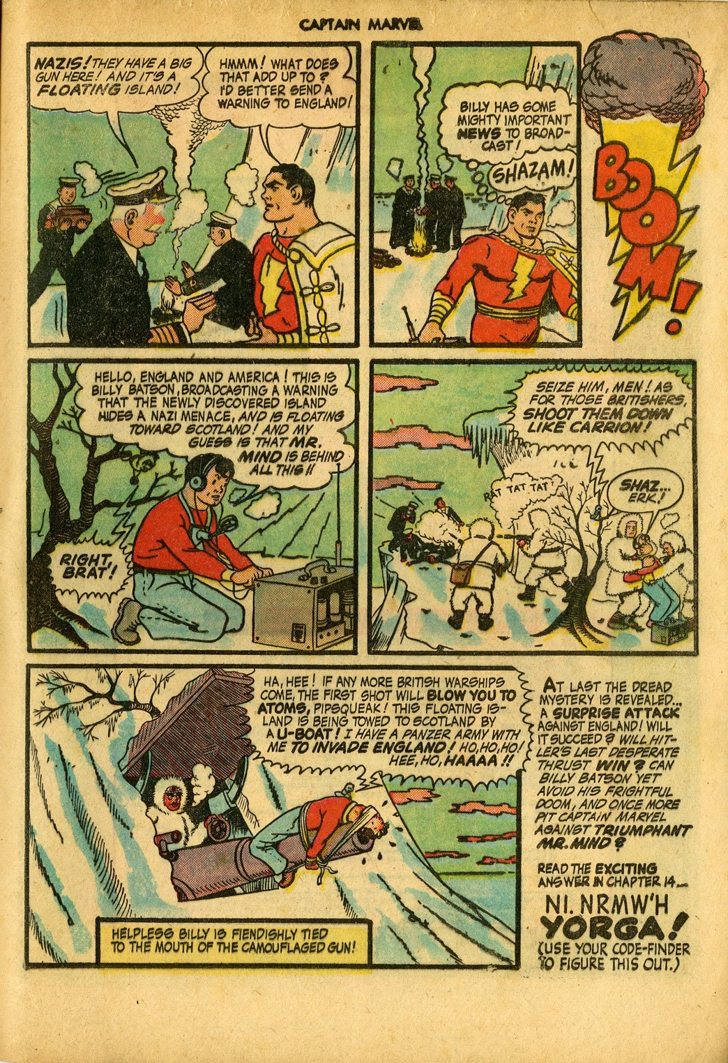 Captain Marvel Adventures issue 34 - Page 57