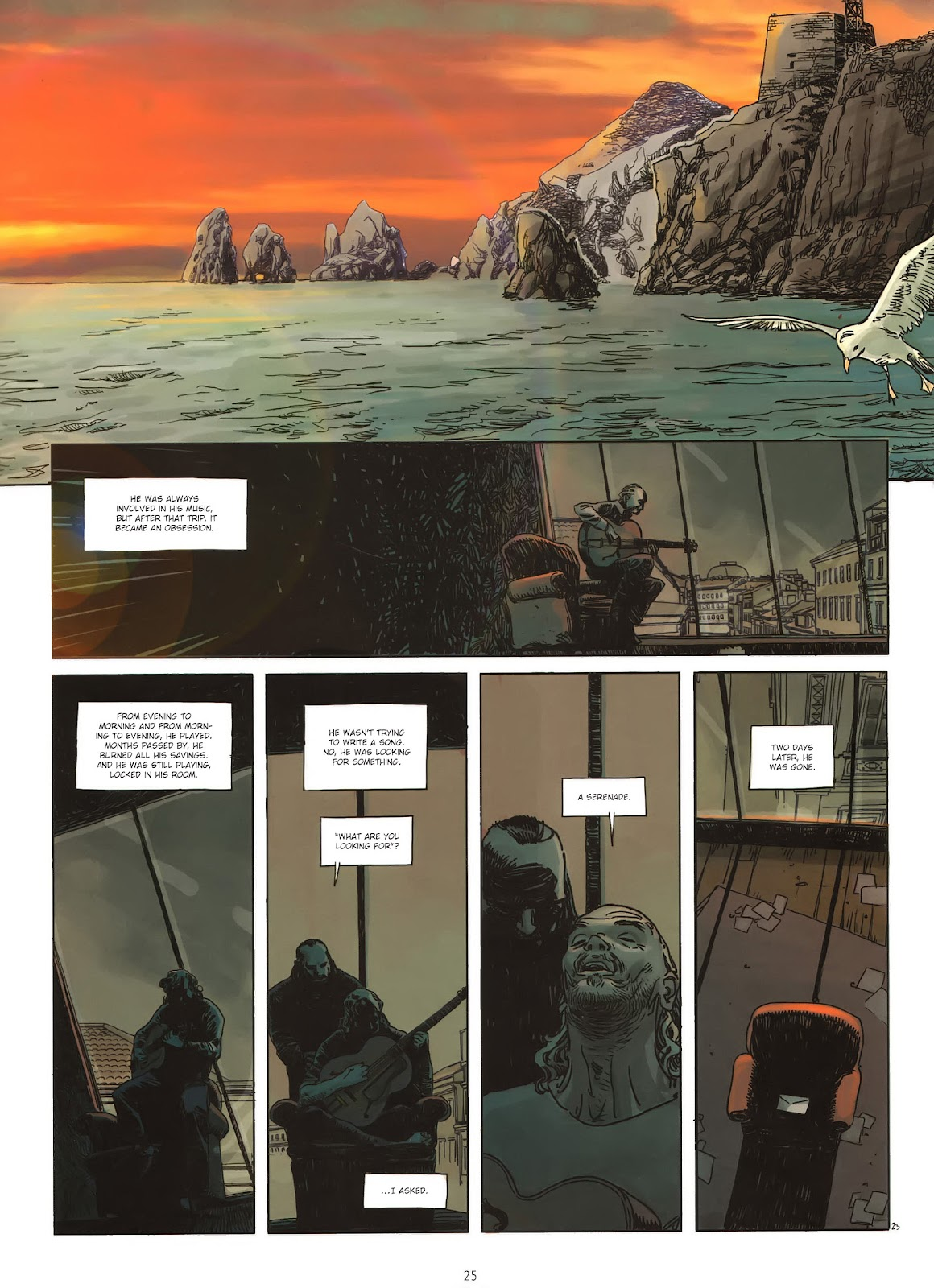 Read online Cutting Edge (2013) comic -  Issue #1 - 23