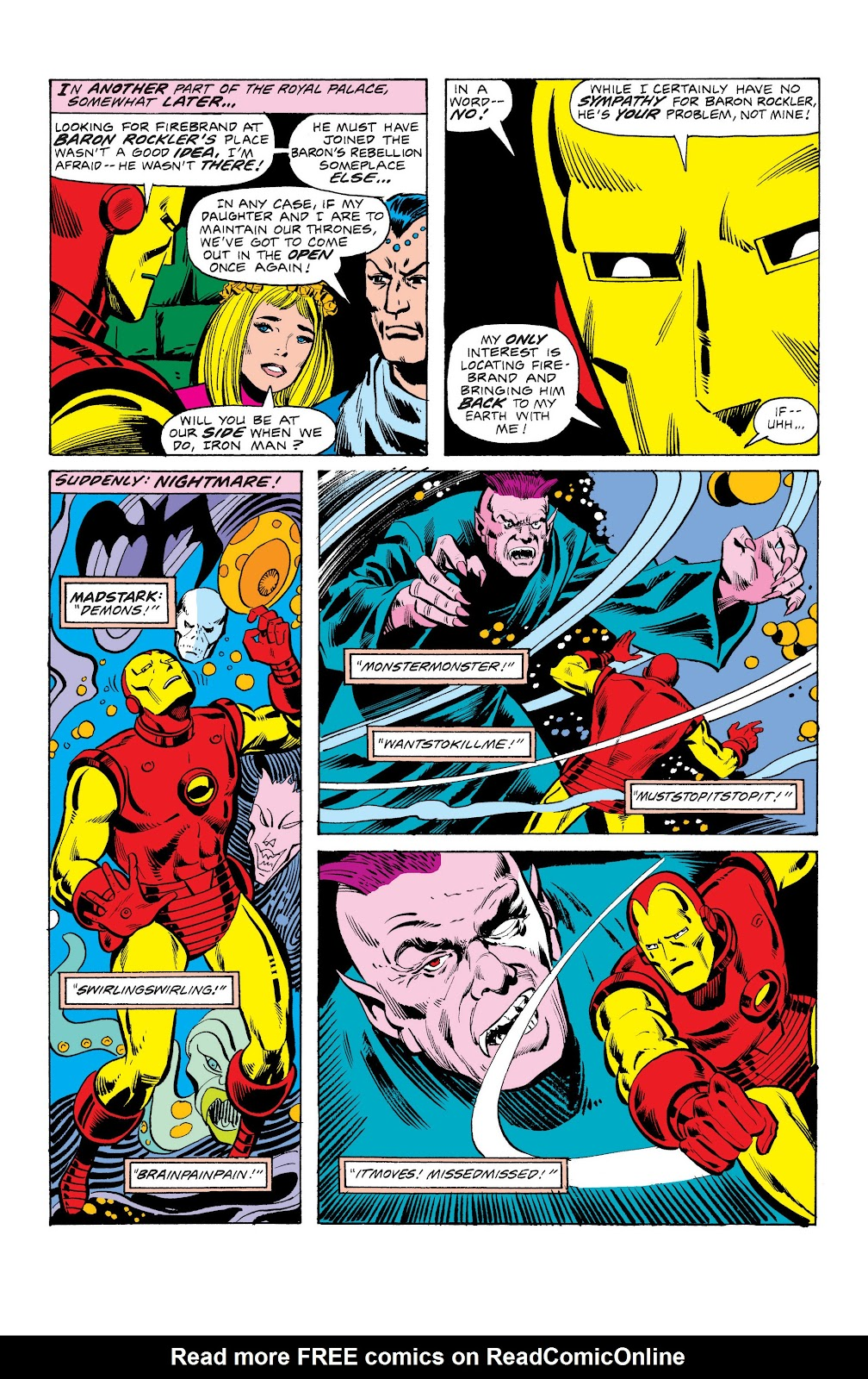 Read online Marvel Masterworks: The Invincible Iron Man comic -  Issue # TPB 10 (Part 3) - 42