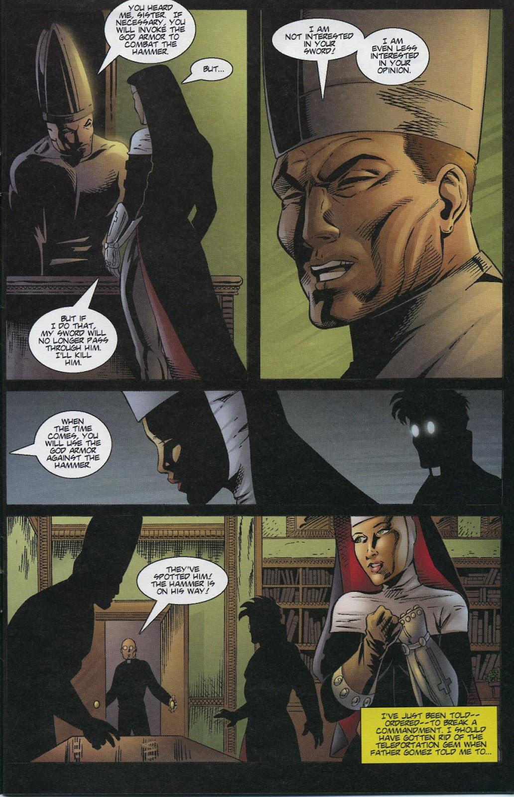 Warrior Nun Areala (1997) Issue #3 #3 - English 5