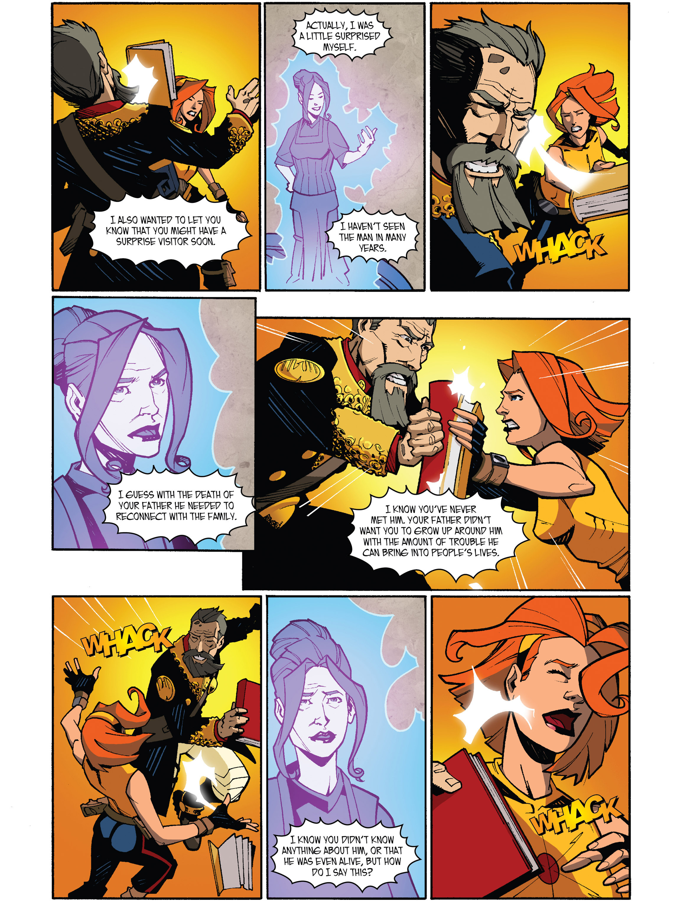 Read online Amber Atoms comic -  Issue #5 - 13