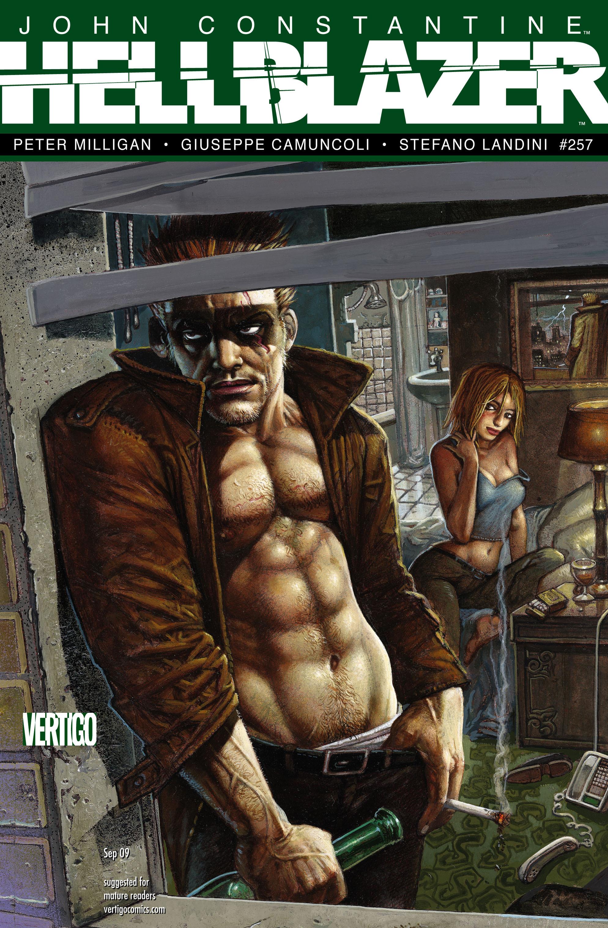 Hellblazer issue 257 - Page 1