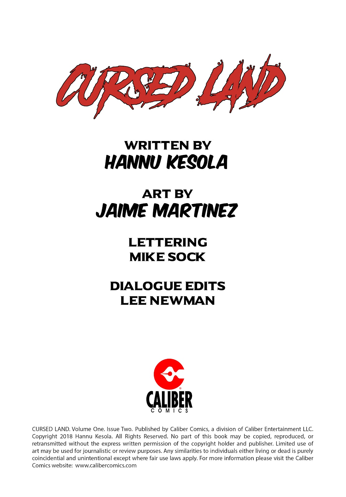 Read online Cursed Land comic -  Issue #2 - 2