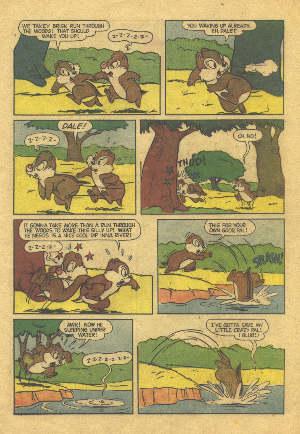 Walt Disney's Comics and Stories issue 216 - Page 21