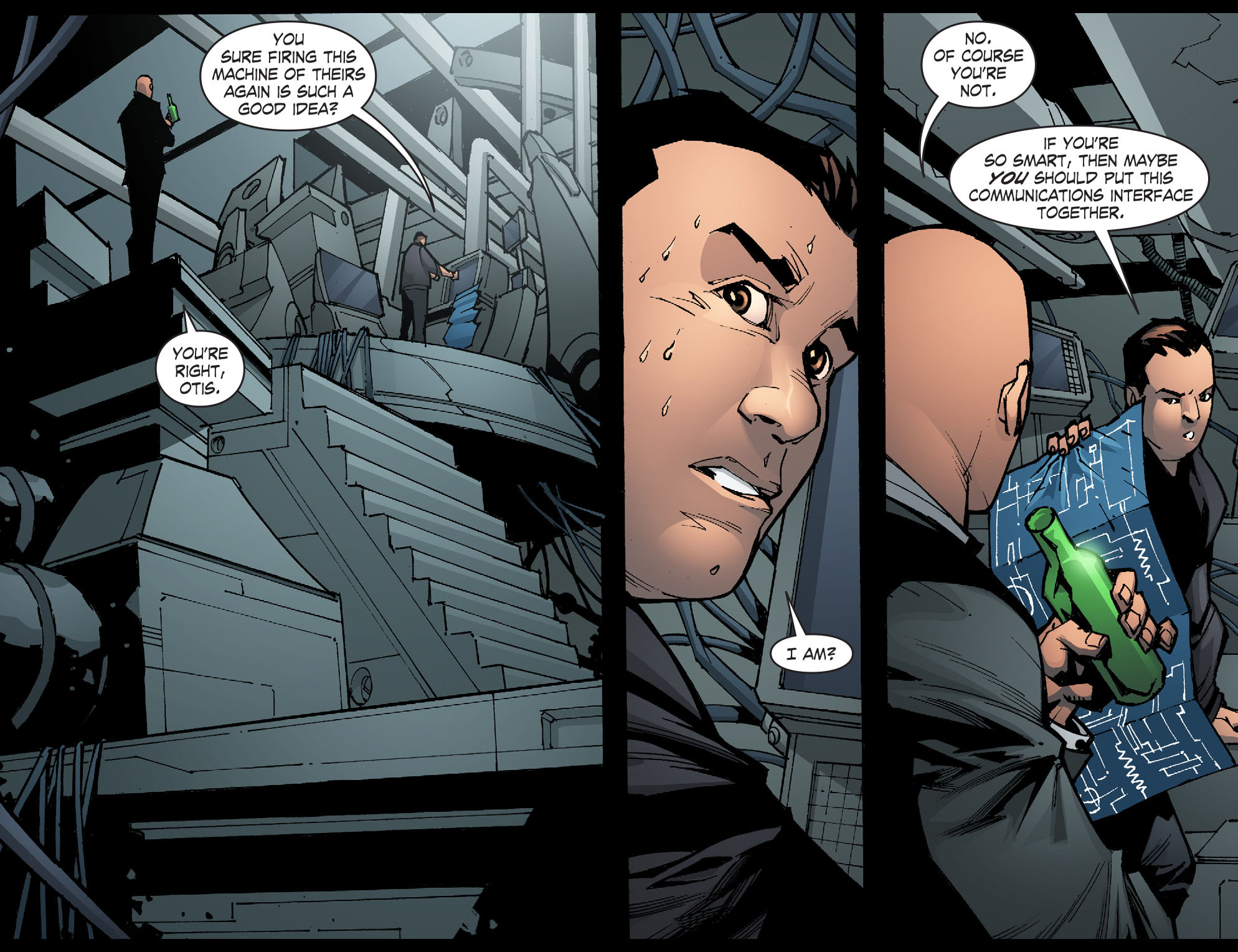 Read online Smallville: Chaos [II] comic -  Issue #6 - 4