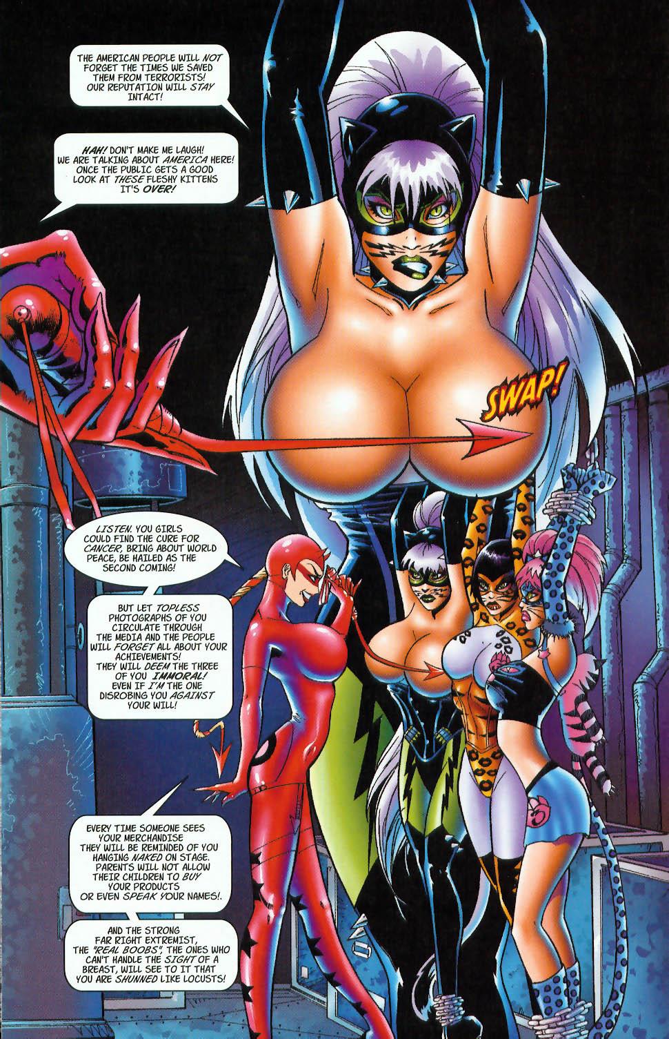 Read online 3 Little Kittens: Purrr-fect Weapons comic -  Issue #3 - 6
