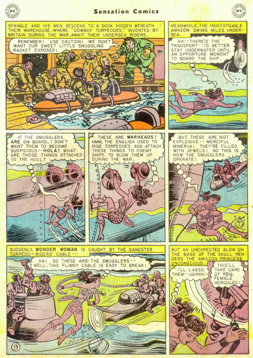 Read online Sensation (Mystery) Comics comic -  Issue #74 - 11