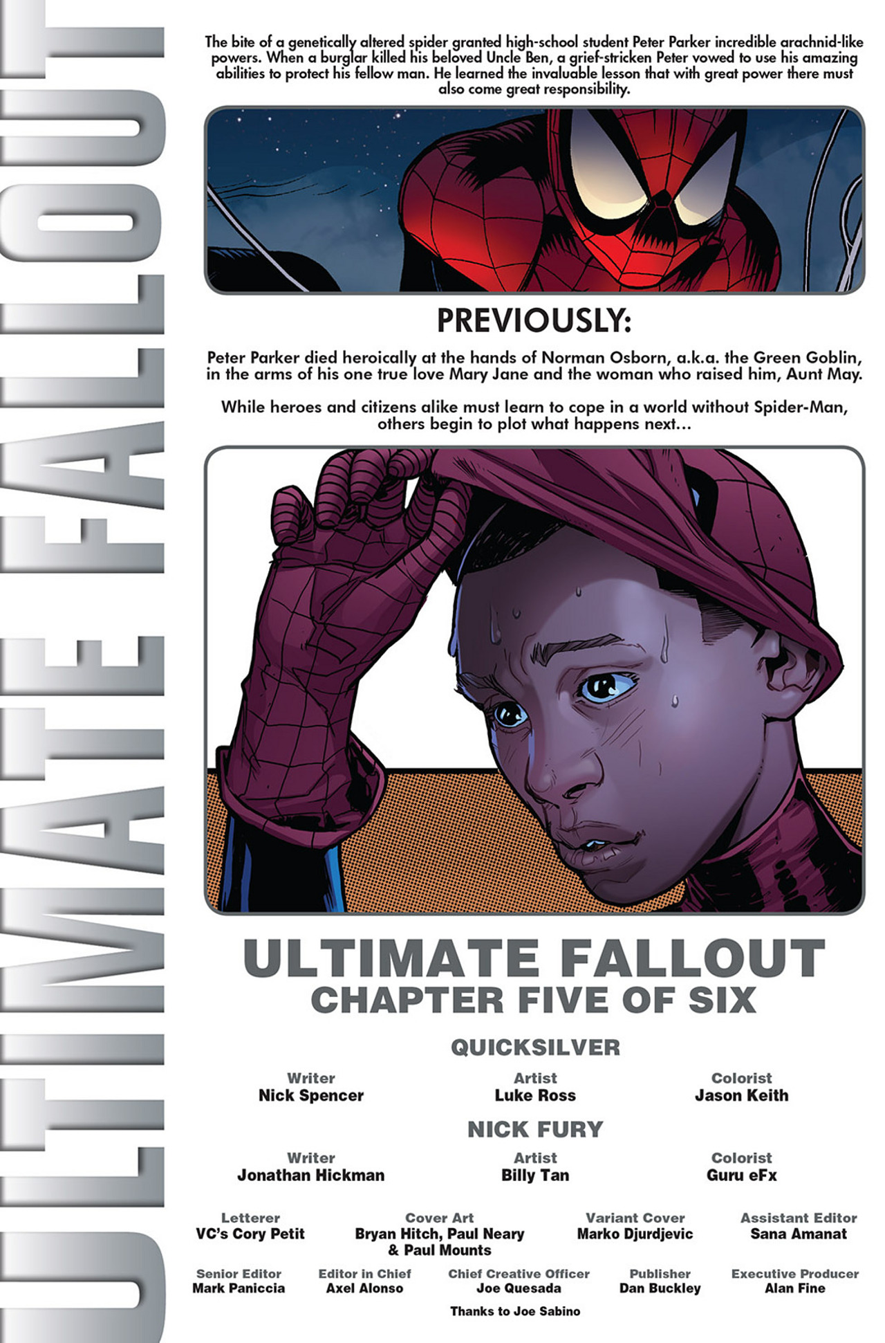 Read online Ultimate Fallout comic -  Issue #5 - 2