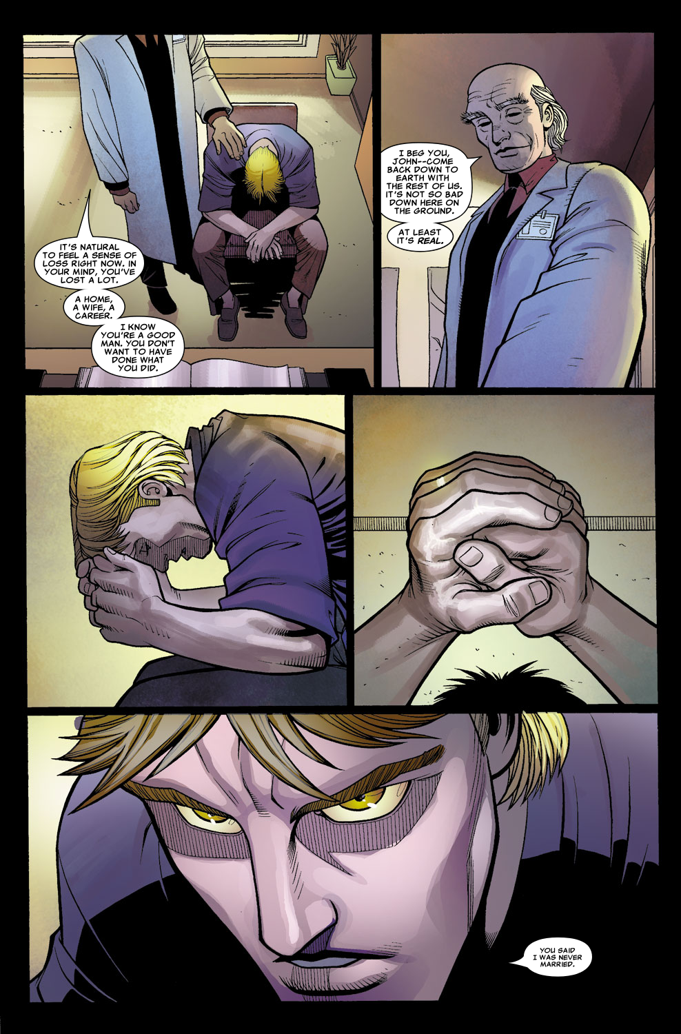 Read online Sentry (2006) comic -  Issue #7 - 13
