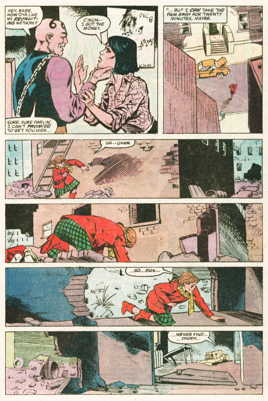 Read online Justice (1986) comic -  Issue #6 - 9