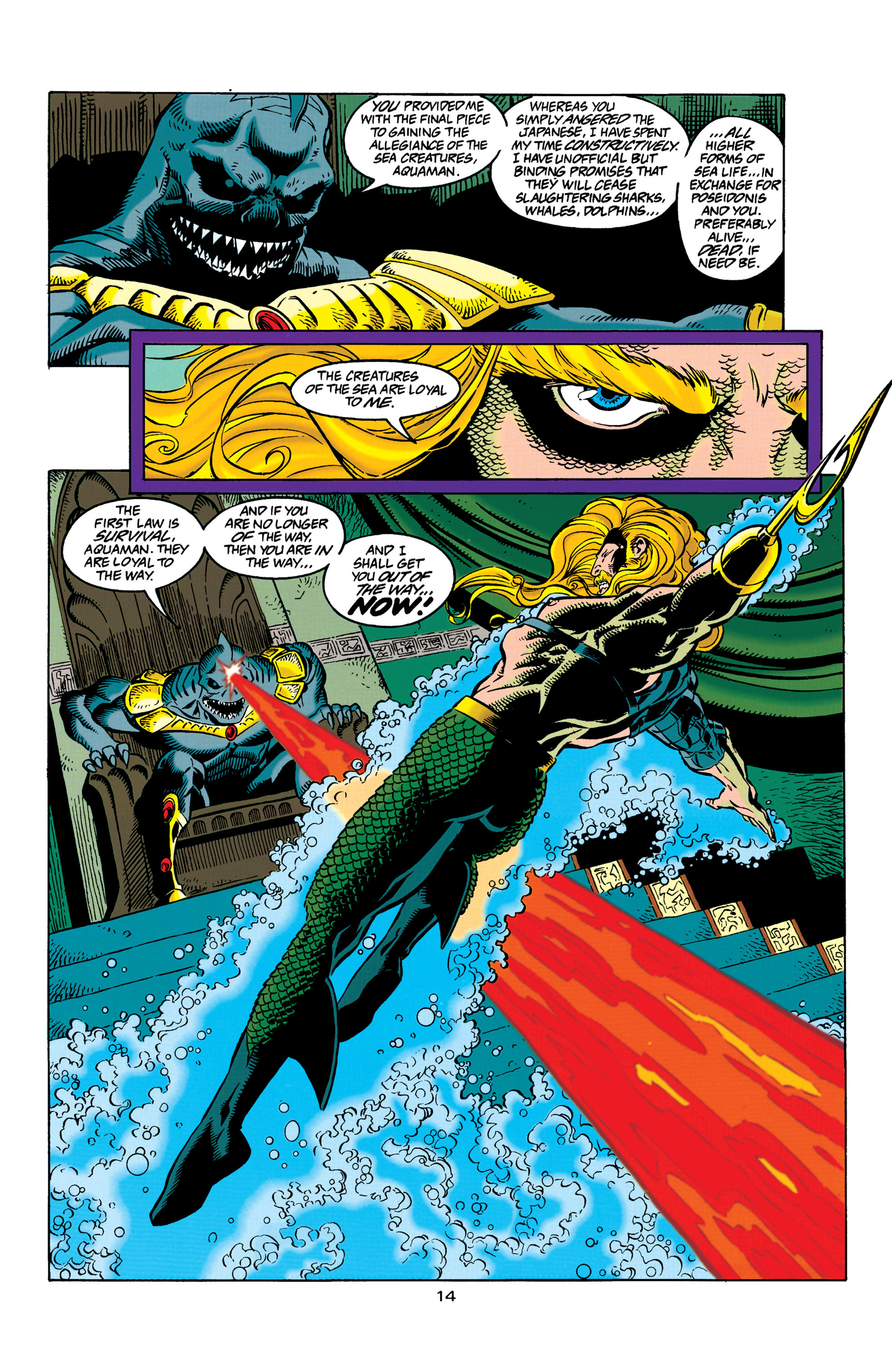 Read online Aquaman (1994) comic -  Issue #31 - 15