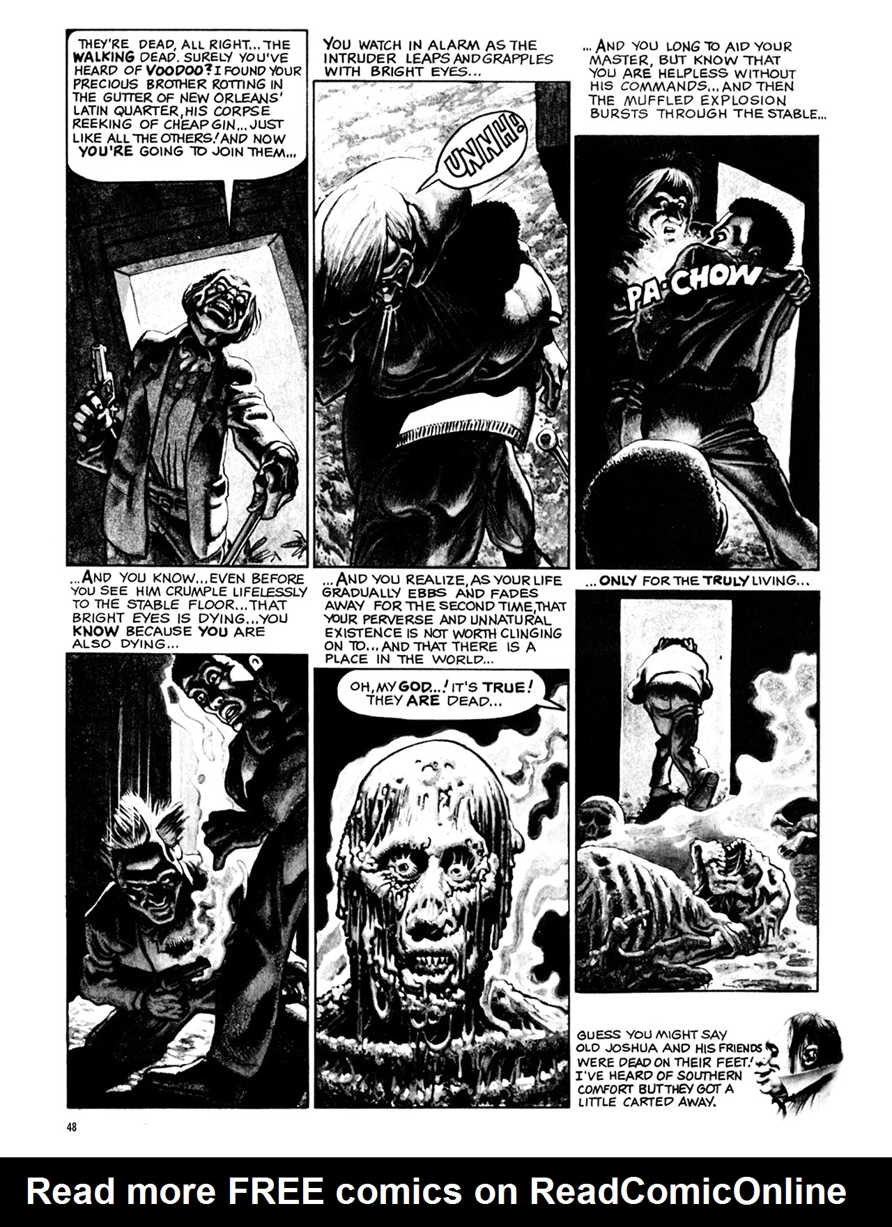 Read online Eerie Archives comic -  Issue # TPB 9 - 49