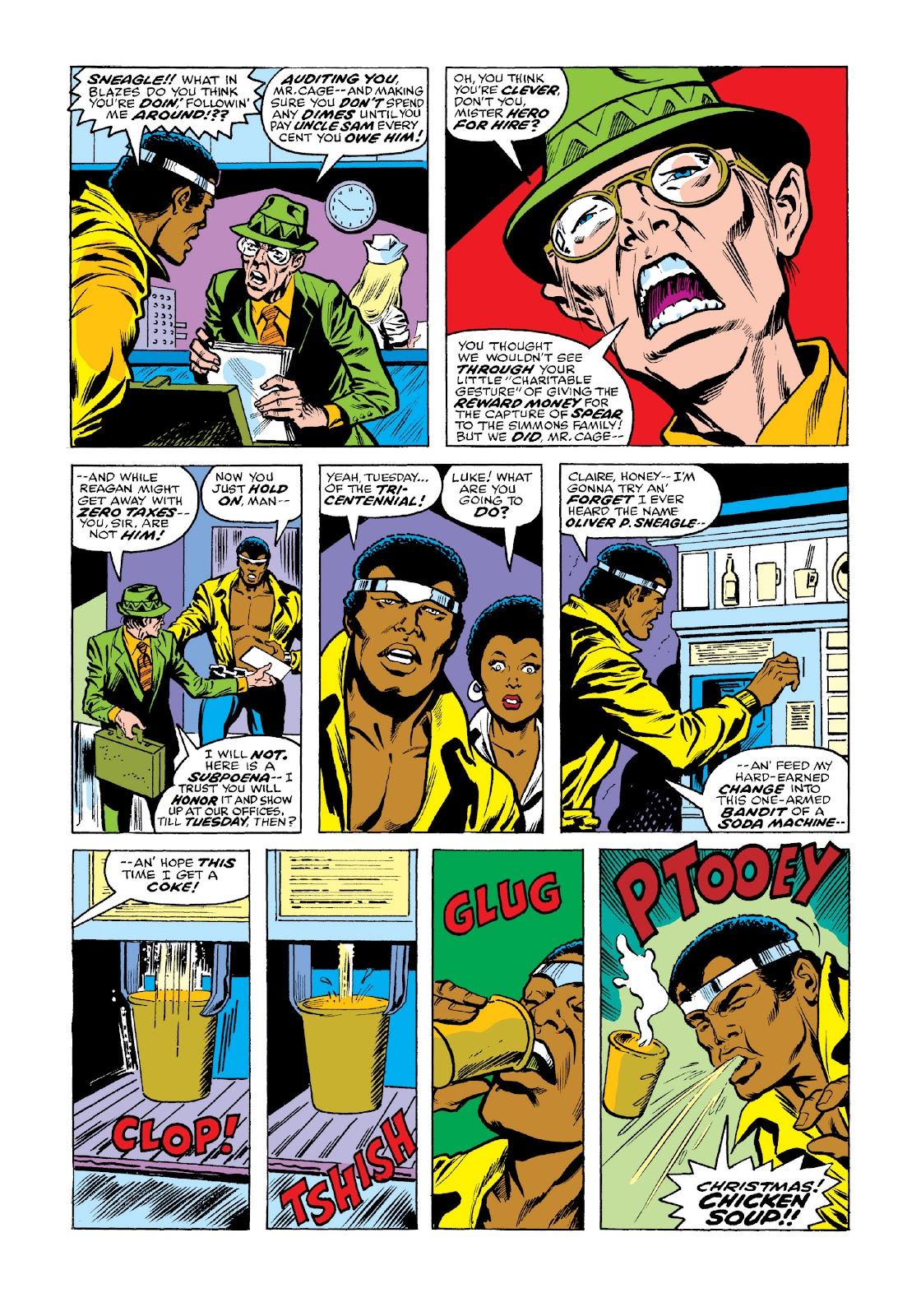 Read online Marvel Masterworks: Luke Cage, Power Man comic -  Issue # TPB 3 (Part 2) - 51