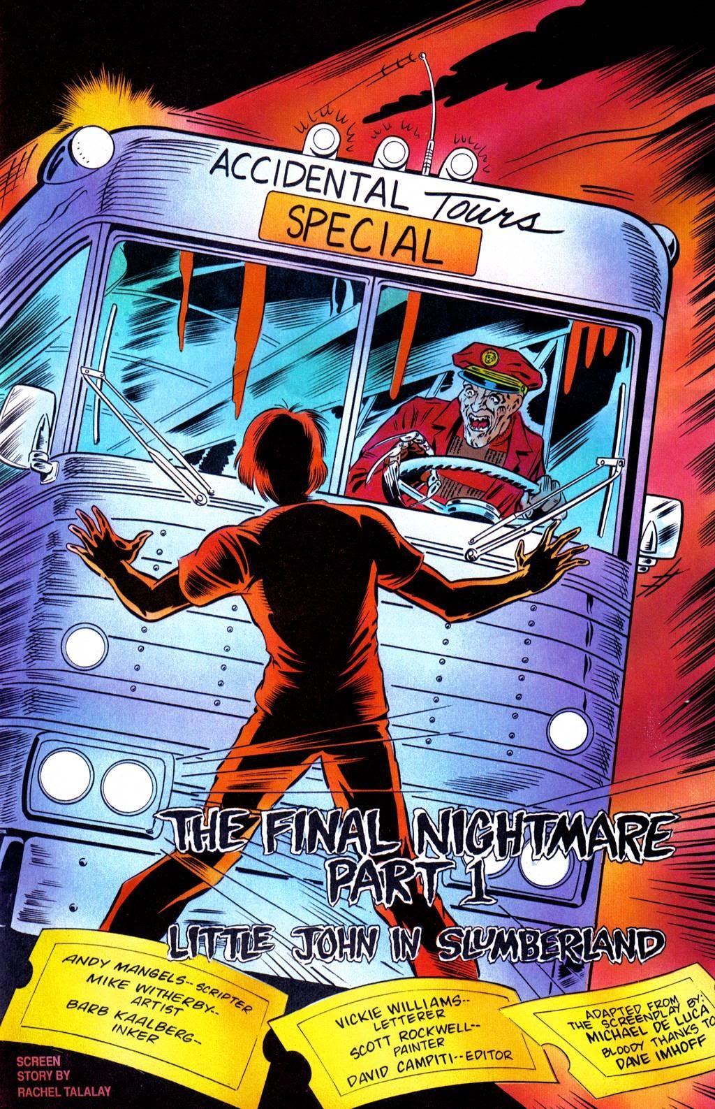 Read online Freddy's Dead: The Final Nightmare comic -  Issue #1 - 7