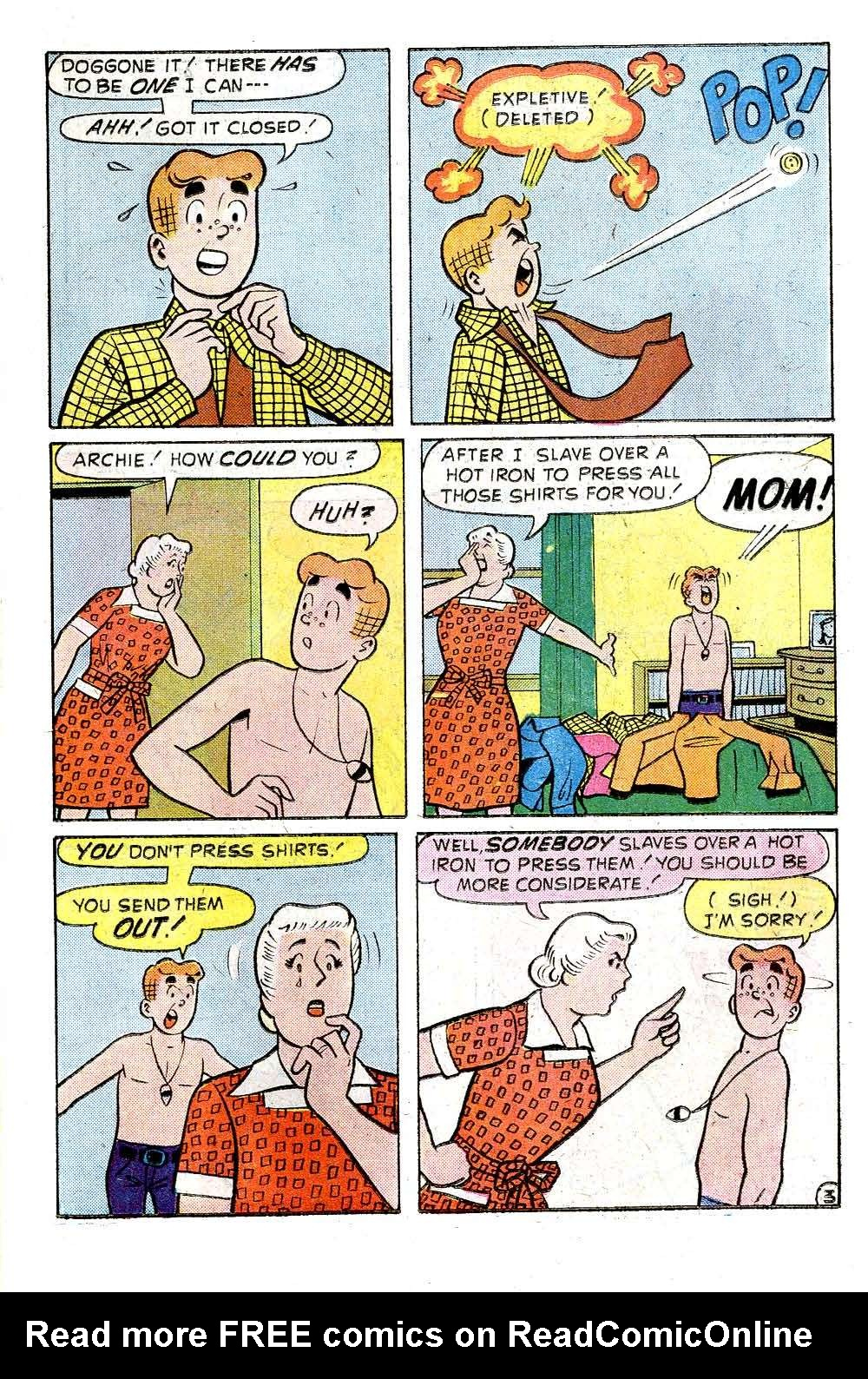 Read online Archie (1960) comic -  Issue #244 - 15