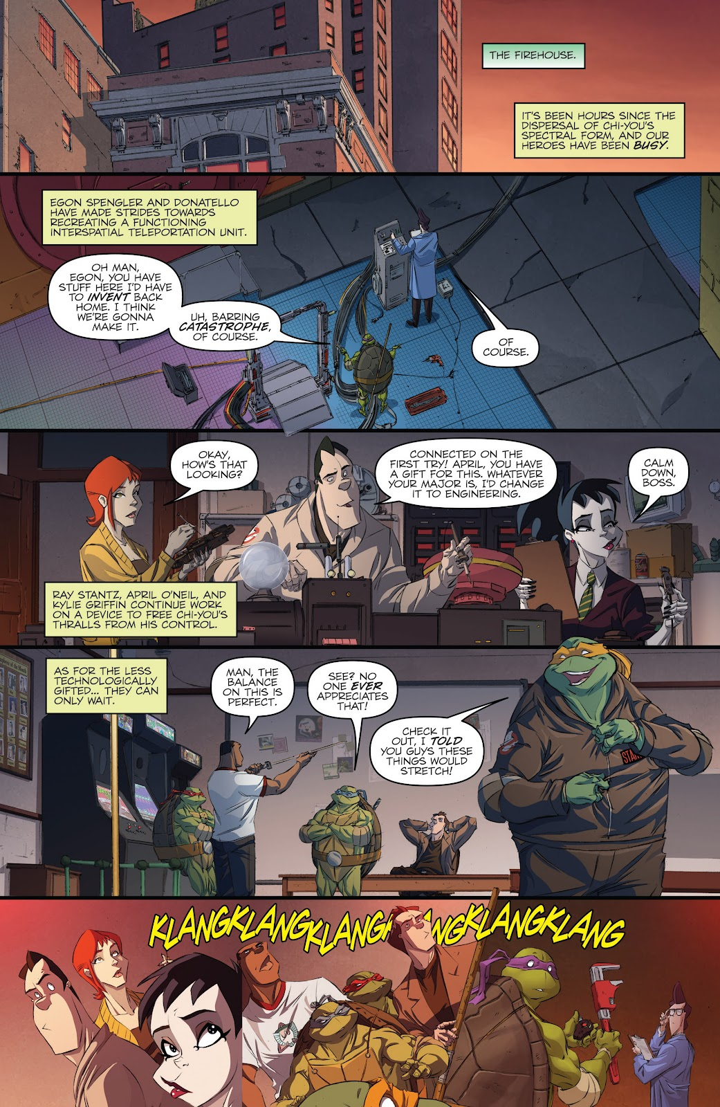 Read online Teenage Mutant Ninja Turtles: The IDW Collection comic -  Issue # TPB 5 (Part 3) - 41