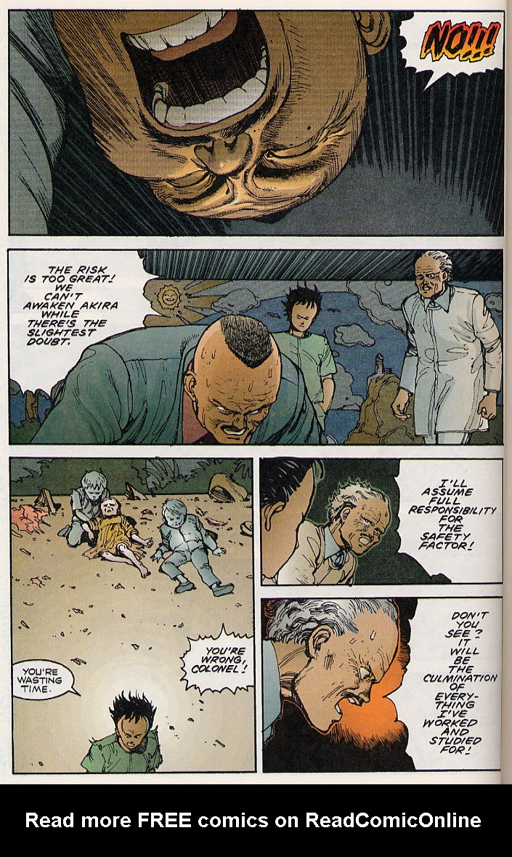 Read online Akira comic -  Issue #8 - 46