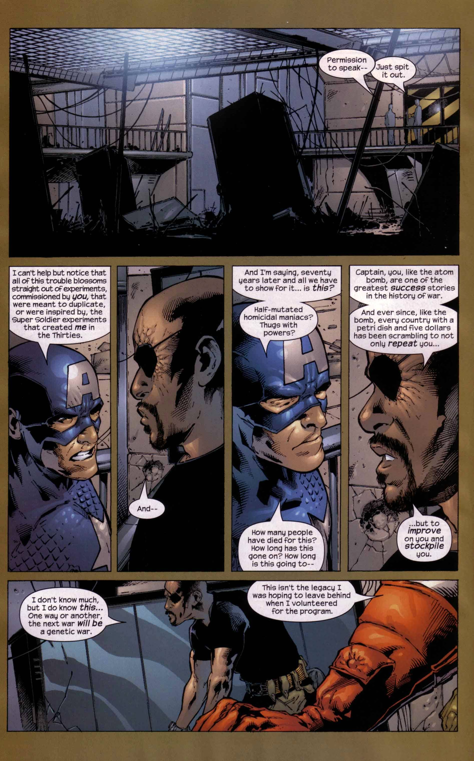 Read online Ultimate Six comic -  Issue #5 - 16