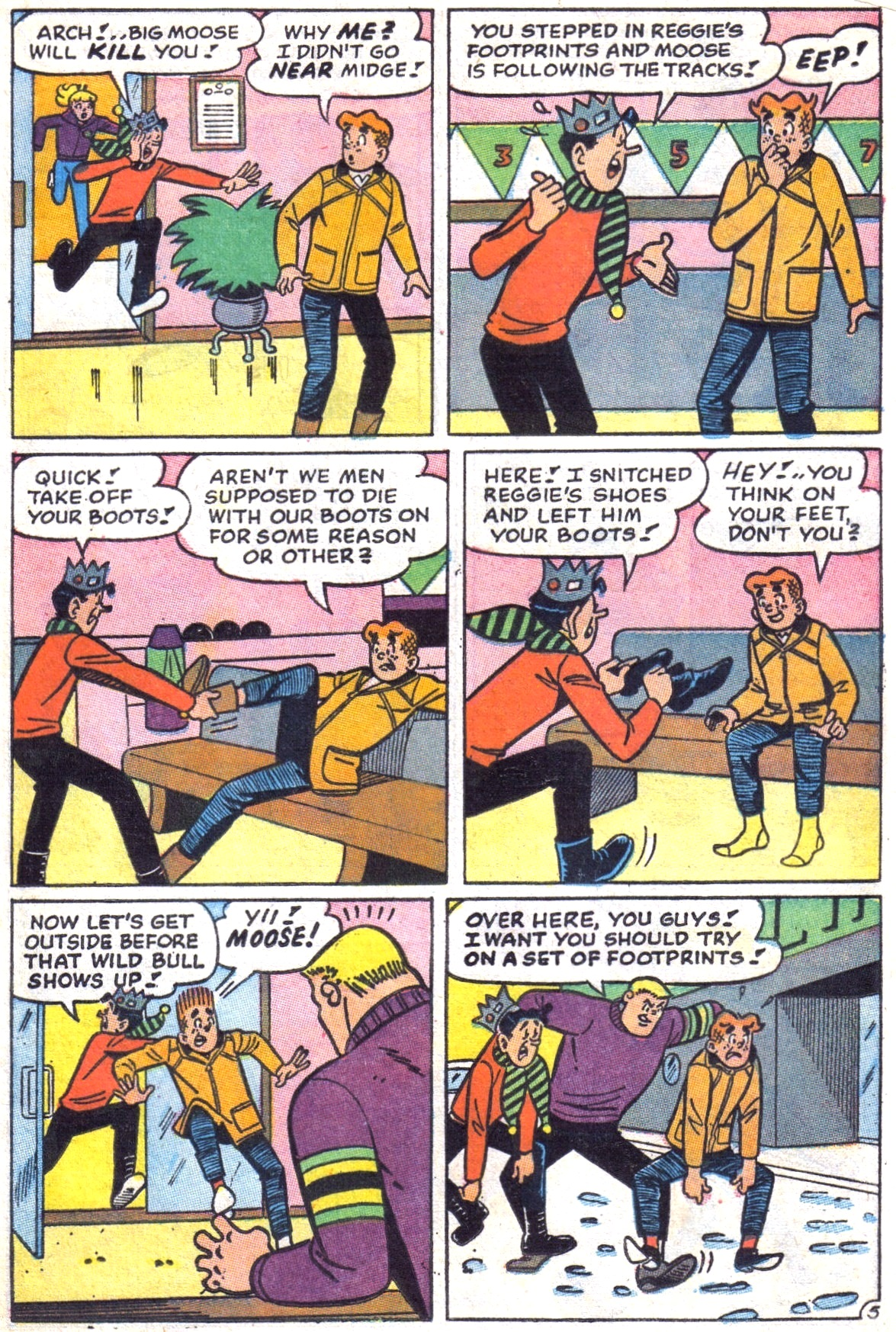Read online Archie (1960) comic -  Issue #172 - 17