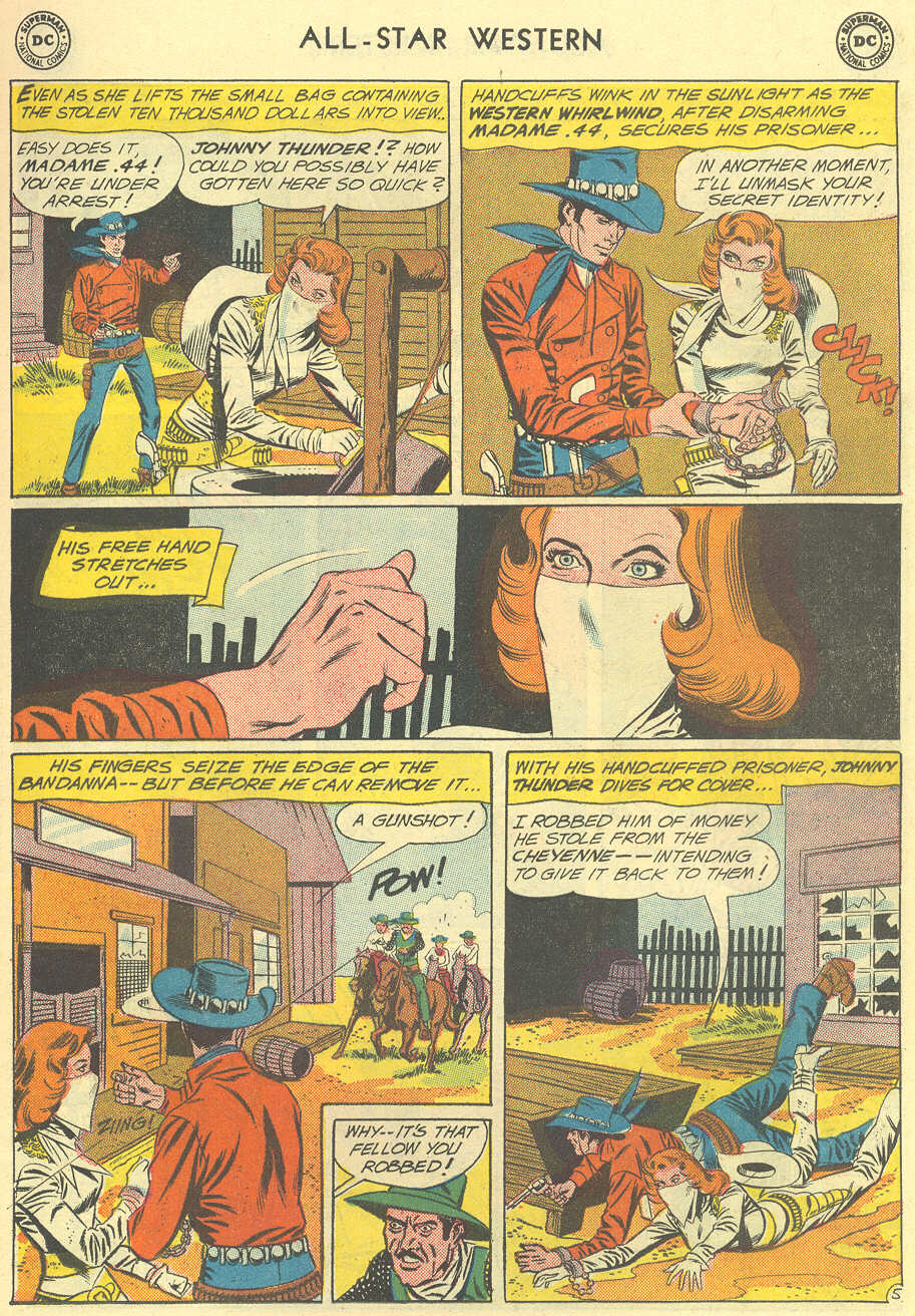 Read online All-Star Western (1951) comic -  Issue #119 - 7