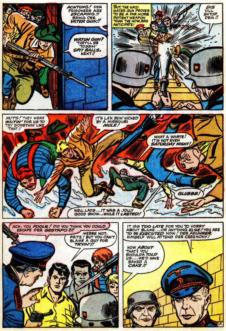 Read online Sgt. Fury comic -  Issue #9 - 21