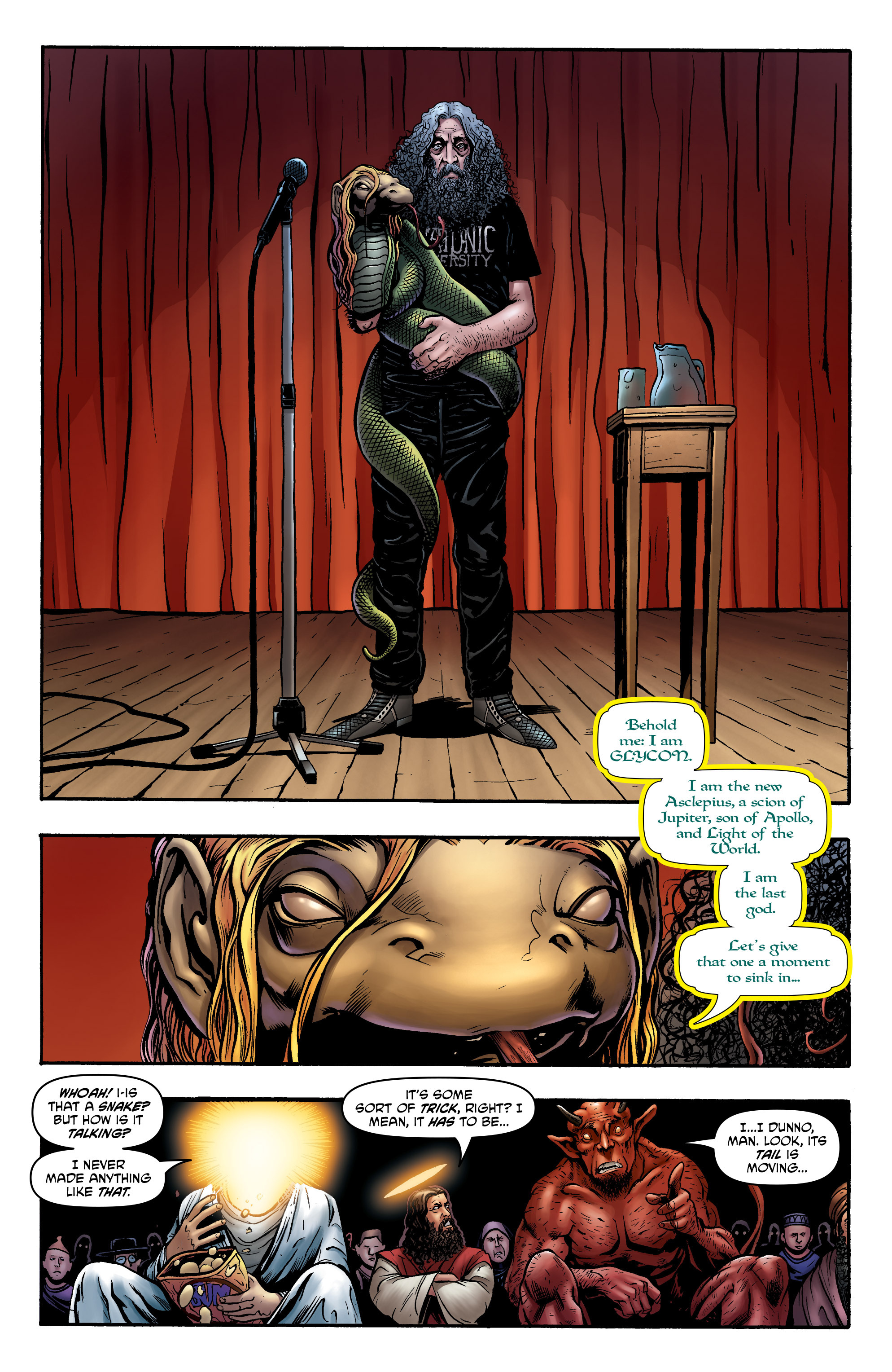 Read online God is Dead: Book of Acts comic -  Issue # Alpha - 32