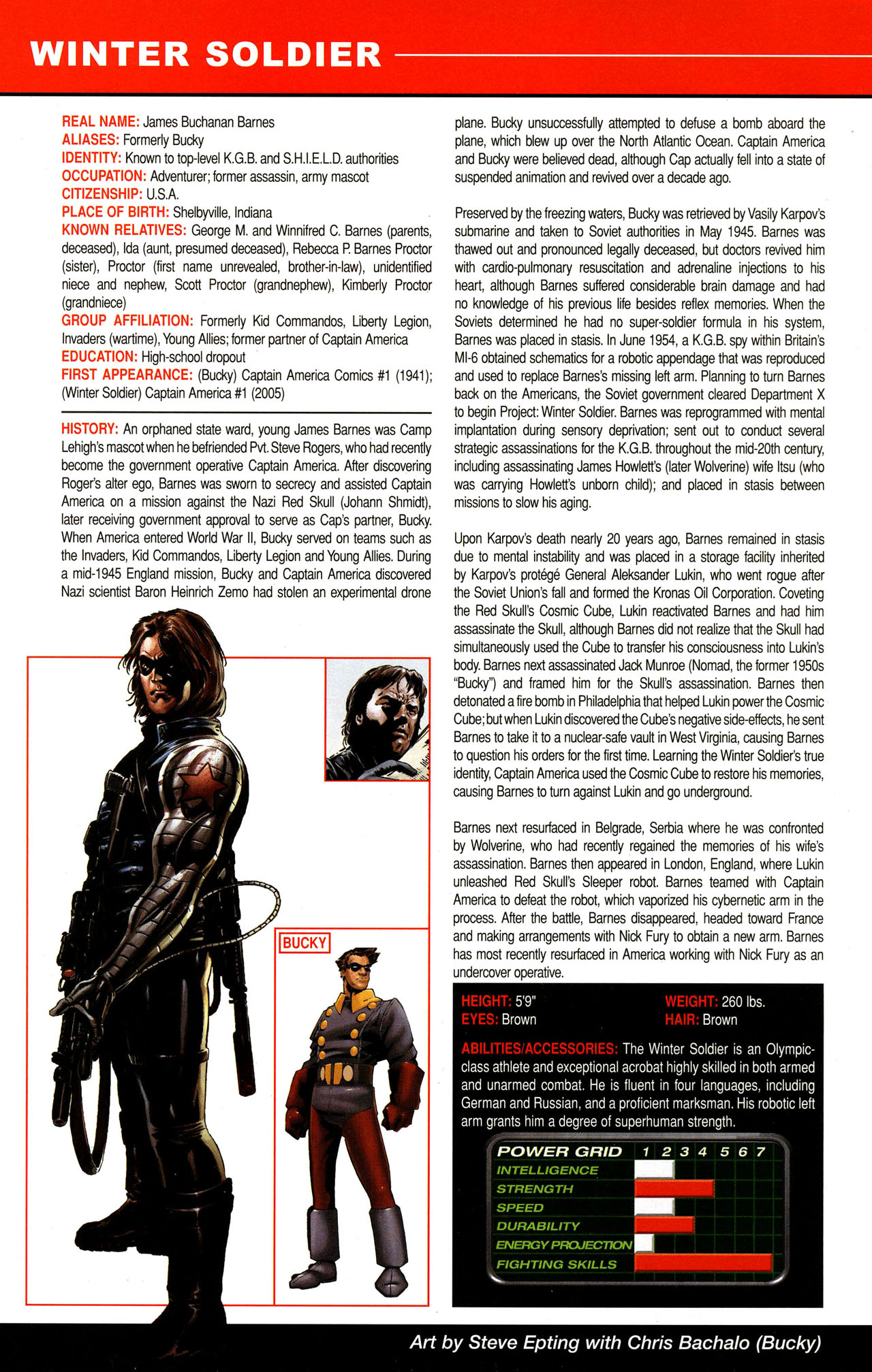 Read online All-New Official Handbook of the Marvel Universe A to Z comic -  Issue #12 - 40