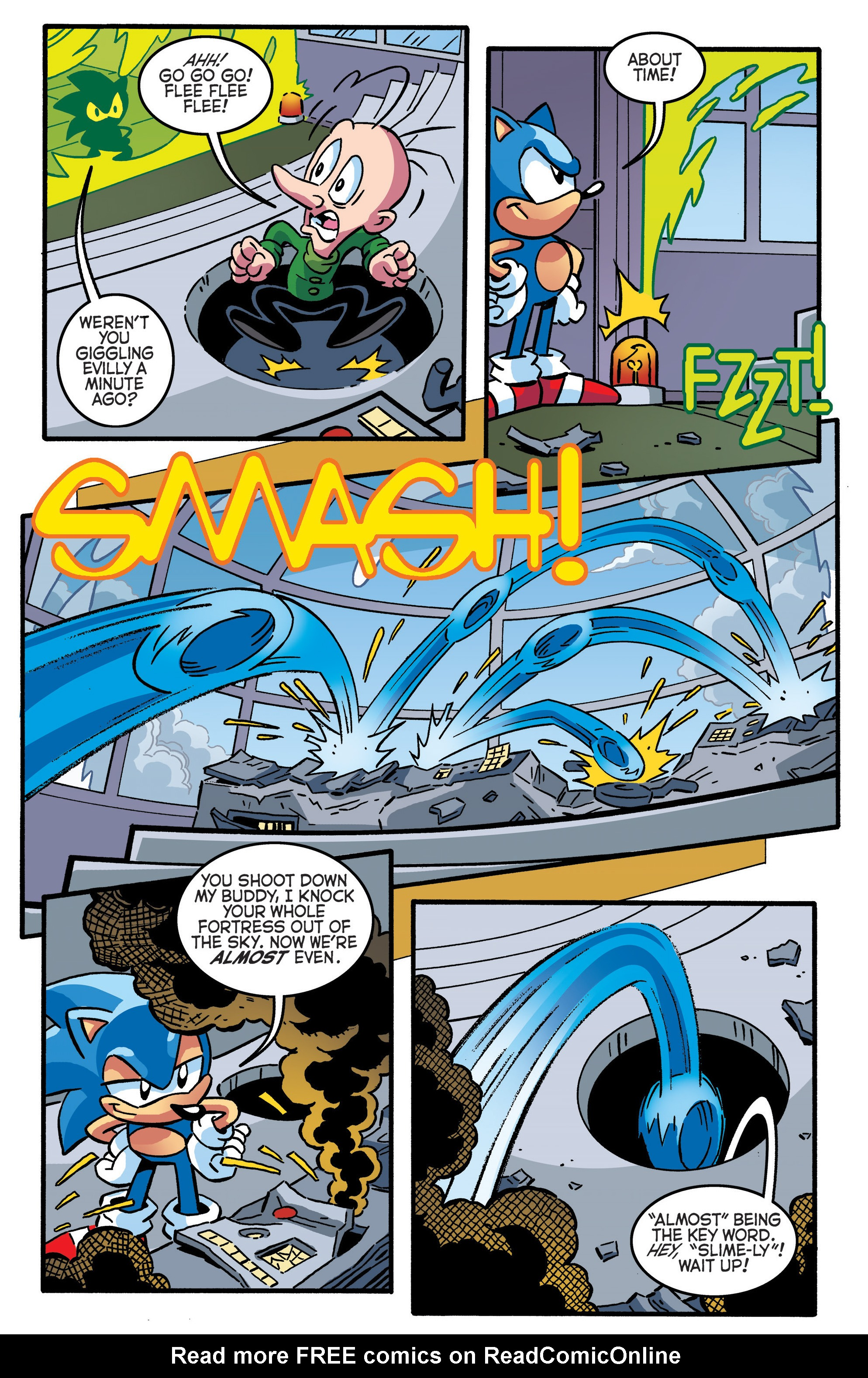 Read online Sonic The Hedgehog comic -  Issue #289 - 12