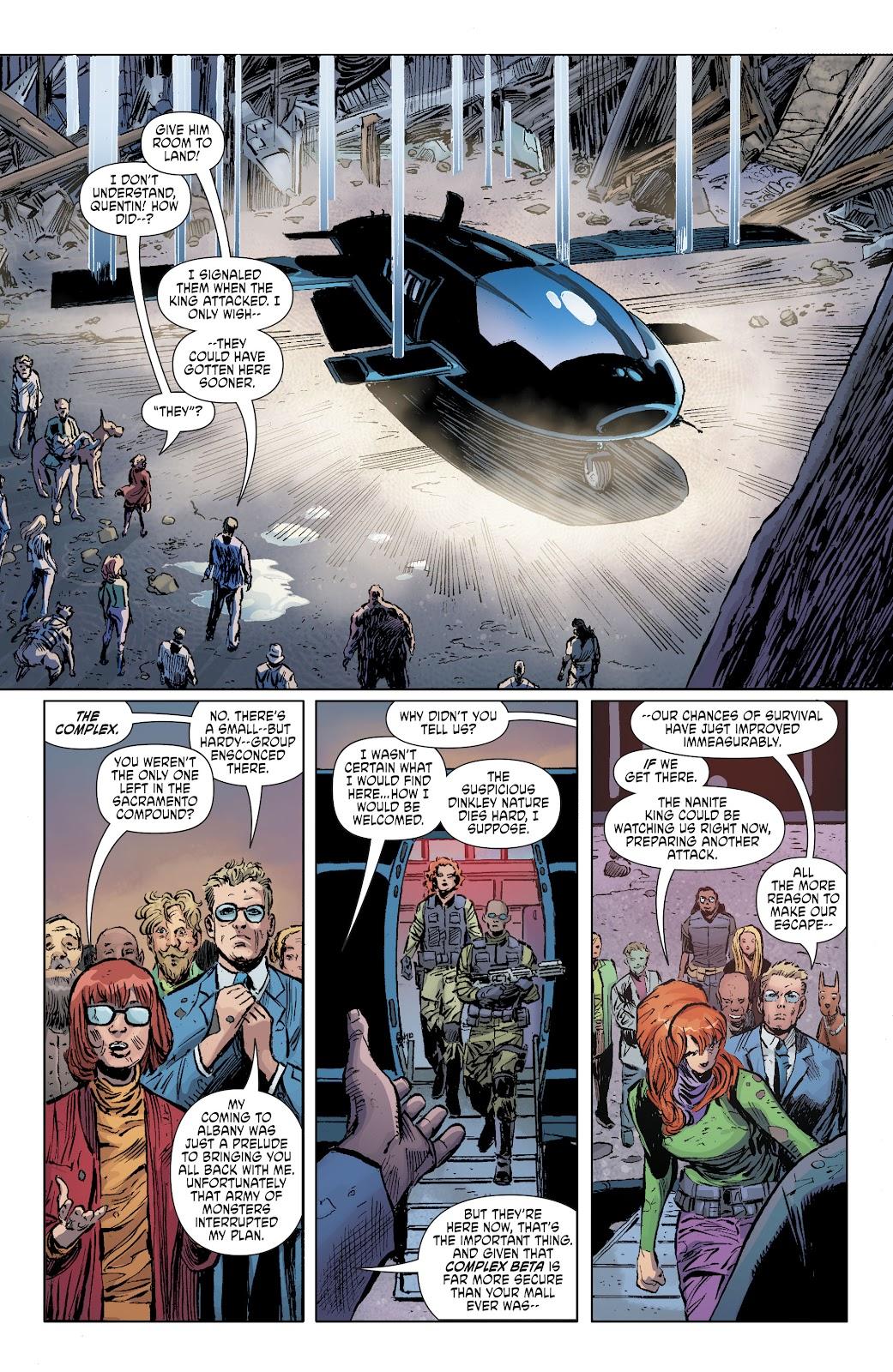 Read online Scooby Apocalypse comic -  Issue #35 - 11