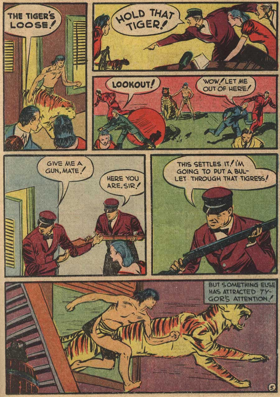 Blue Ribbon Comics (1939) issue 7 - Page 47