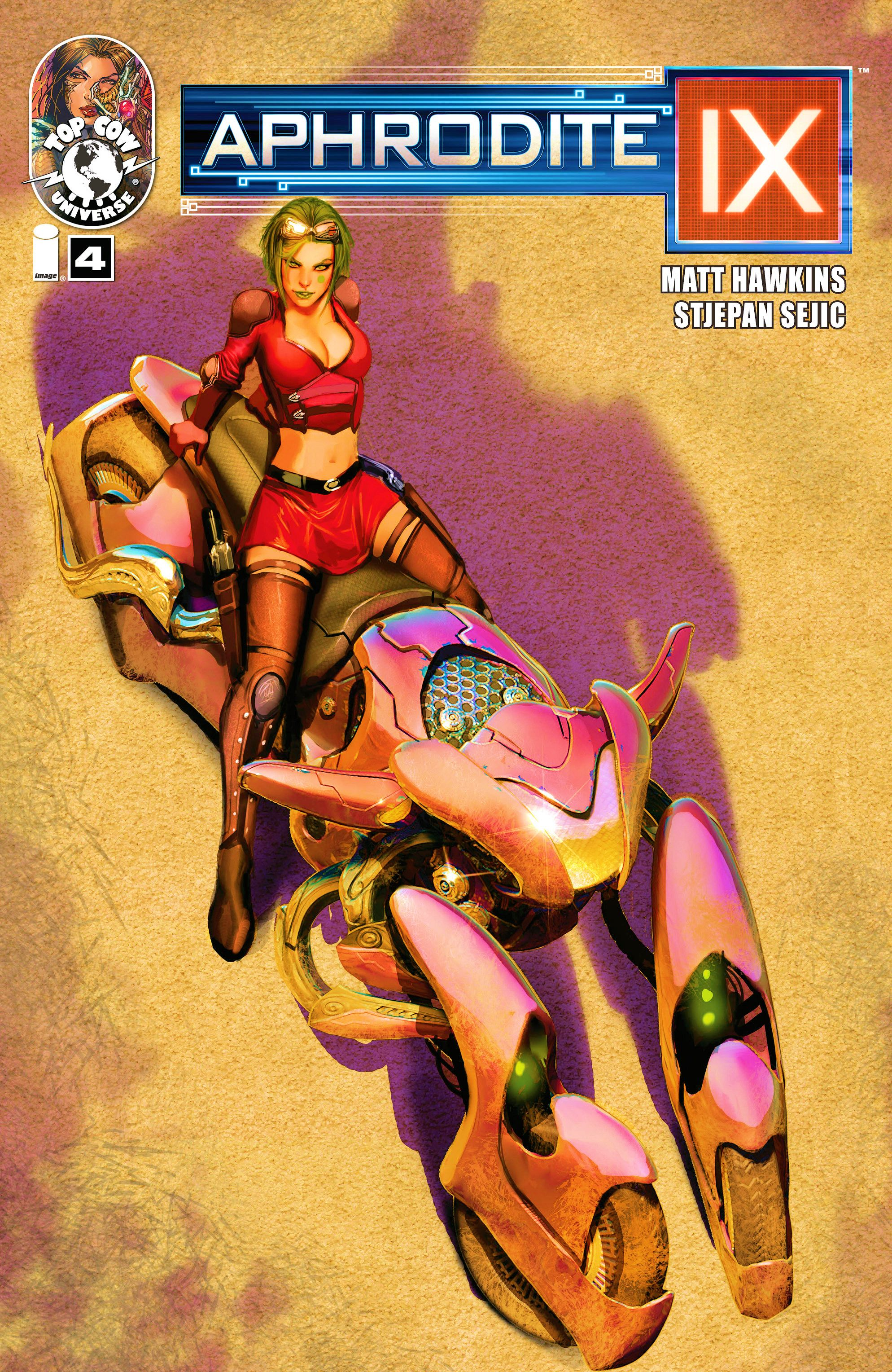 Read online Aphrodite IX (2013) comic -  Issue #4 - 1