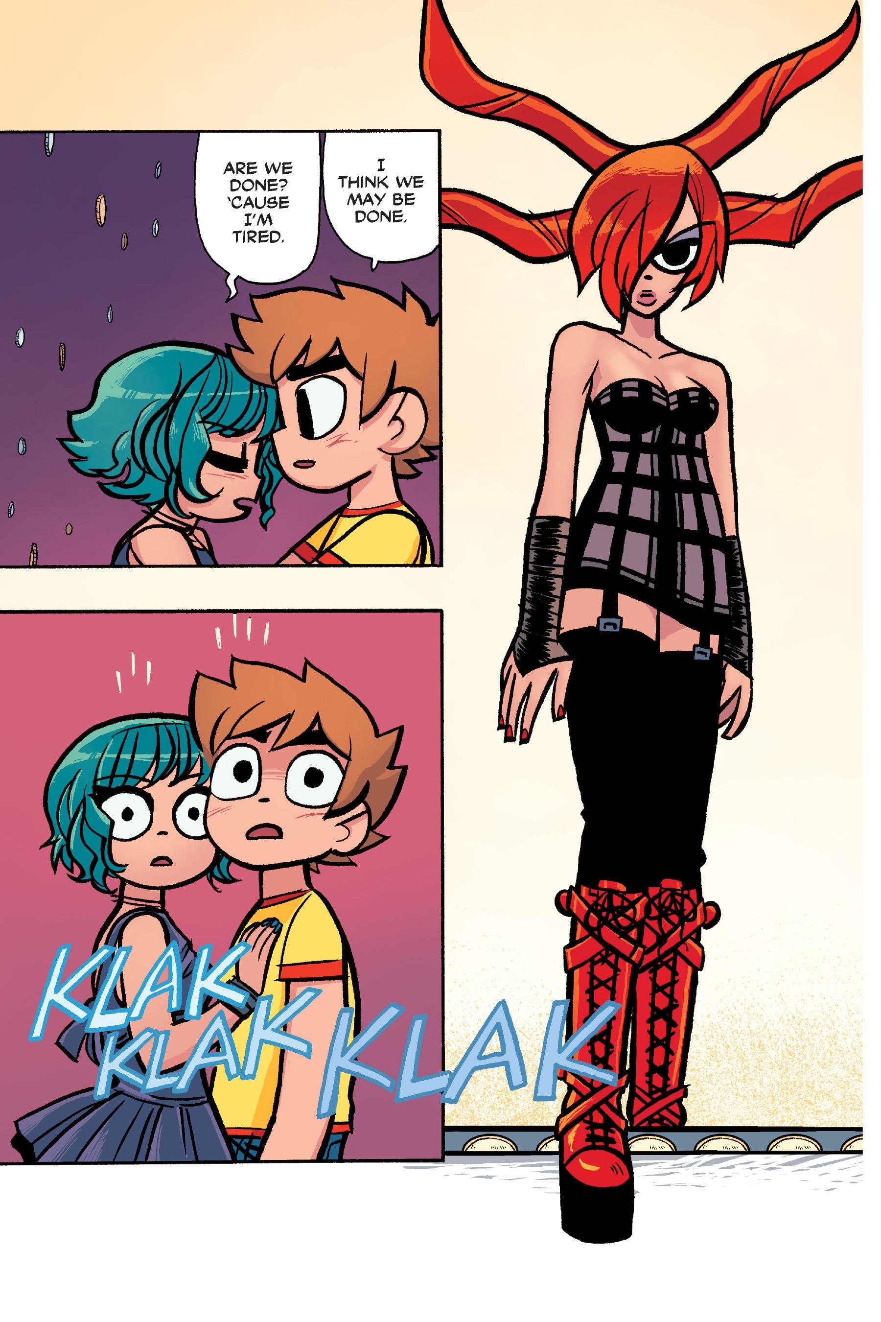 Read online Scott Pilgrim comic -  Issue #6 - 210